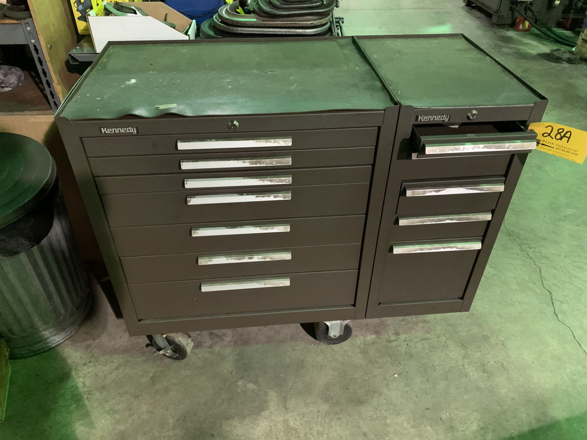 Lot 28A - KENNEDY PORTABLE TOOL CHEST
