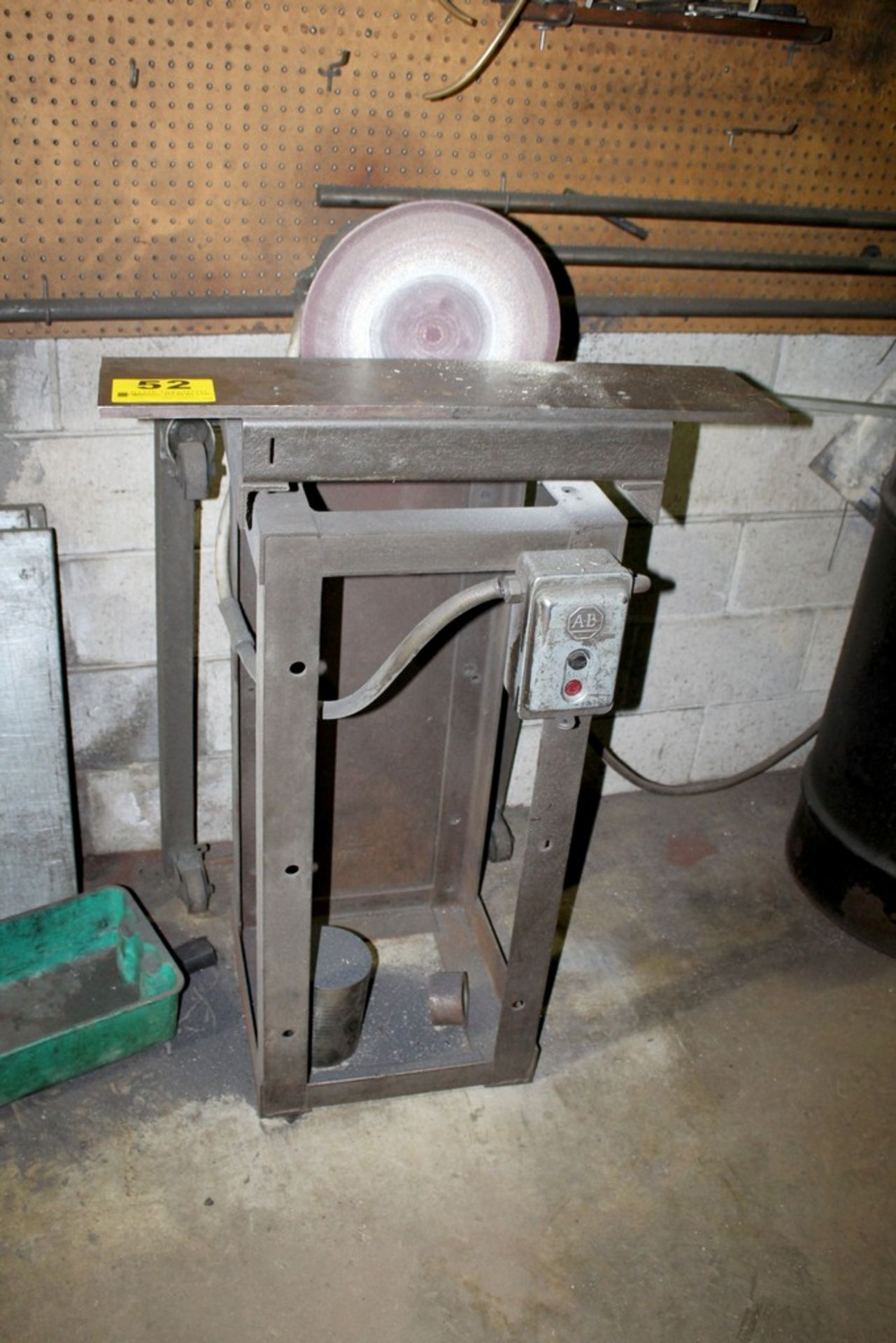 "Lot 52 - 12"" DISC SANDER WITH STAND"