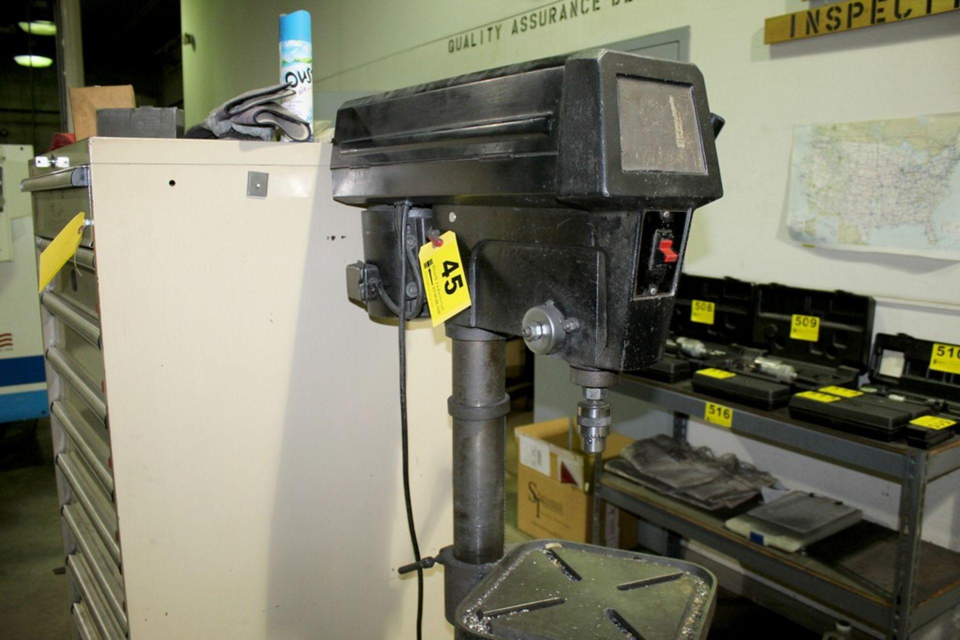 "Lot 45 - WILTON 16"" MODEL 2800 FLOOR STANDING DRILL PRESS S/N 10807"