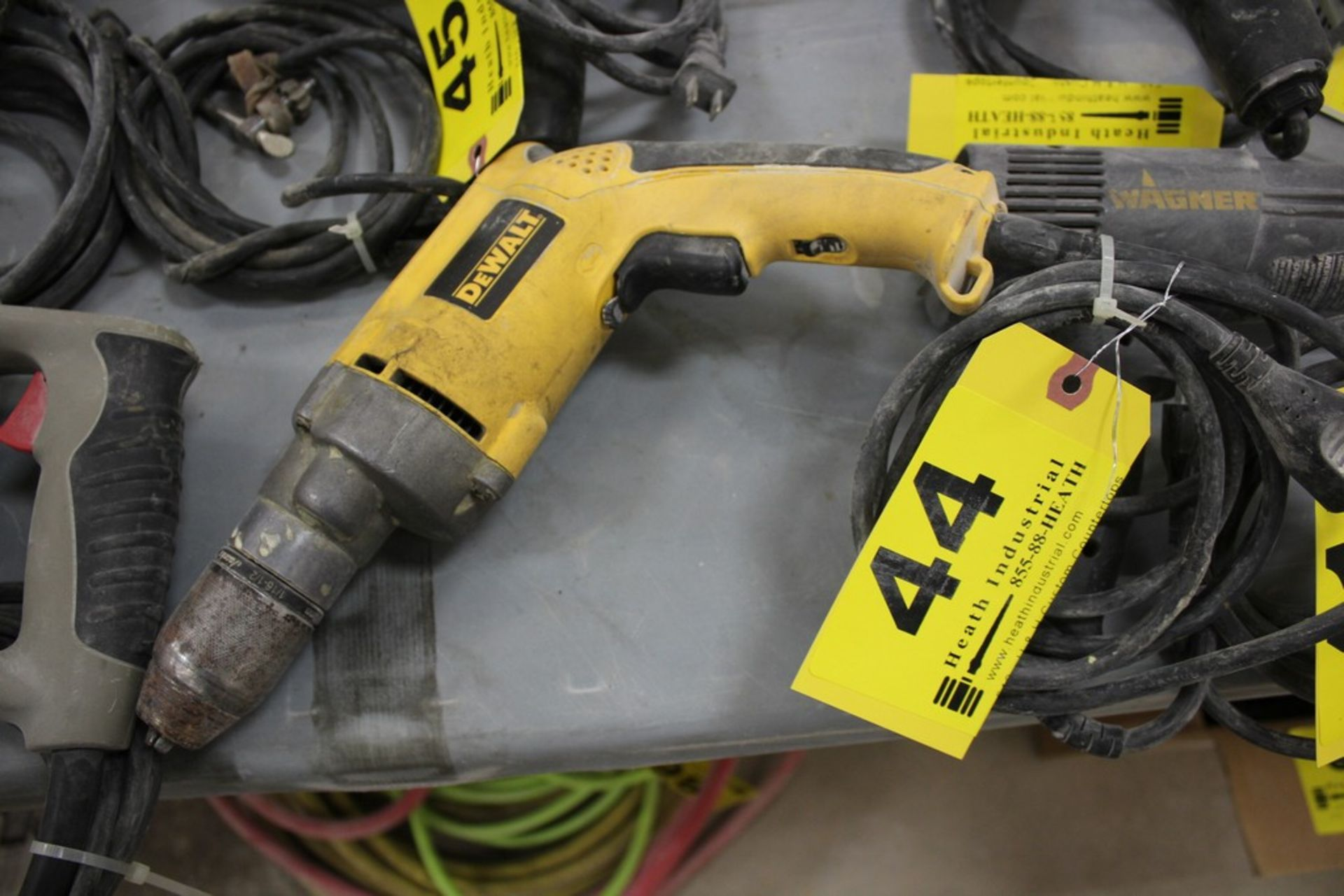 "Lot 44 - DEWALT MODEL DW236 1/2"" ELECTRIC DRILL"