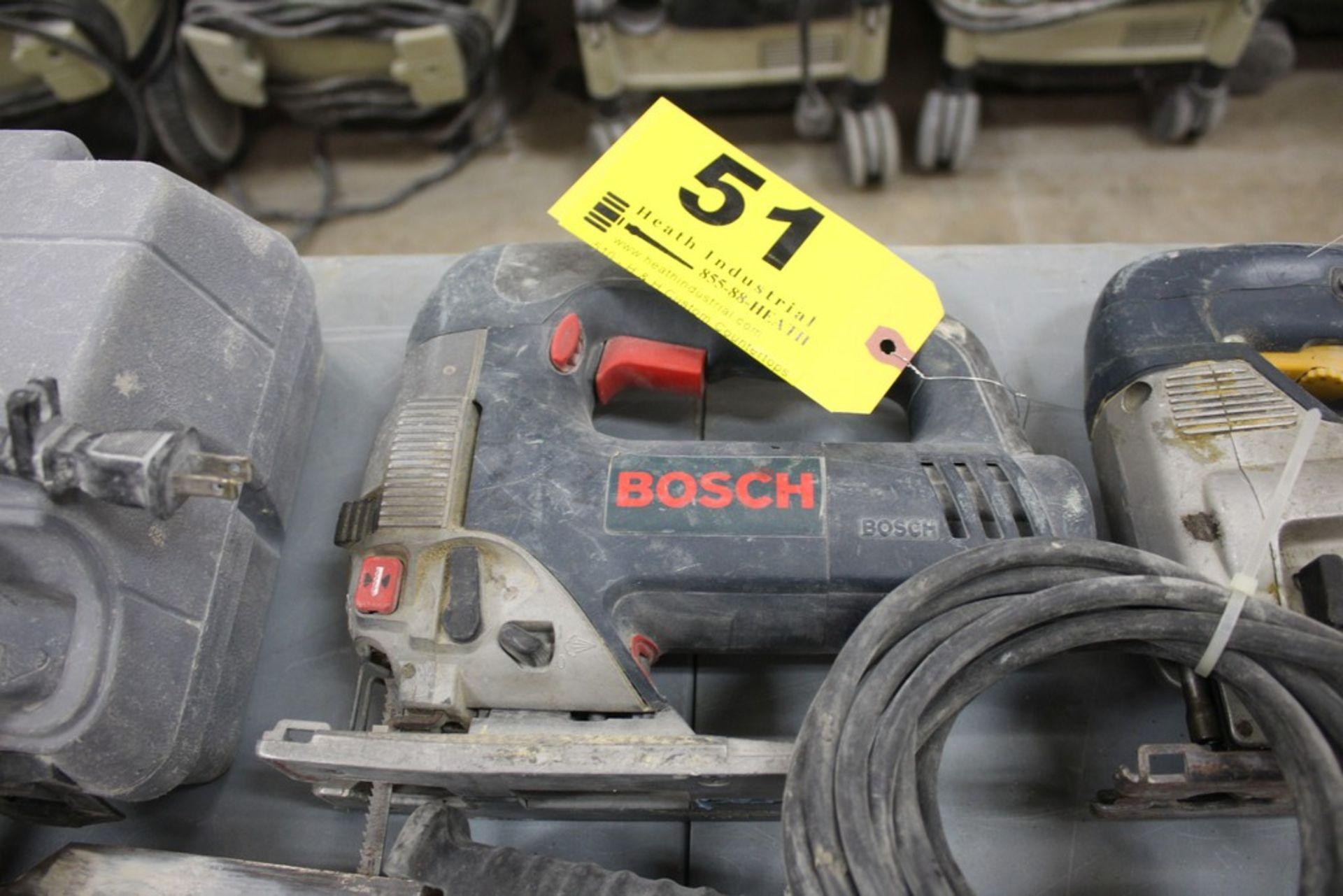 Lot 51 - BOSCH MODEL 1590 EVS ELECTRIC JIG SAW