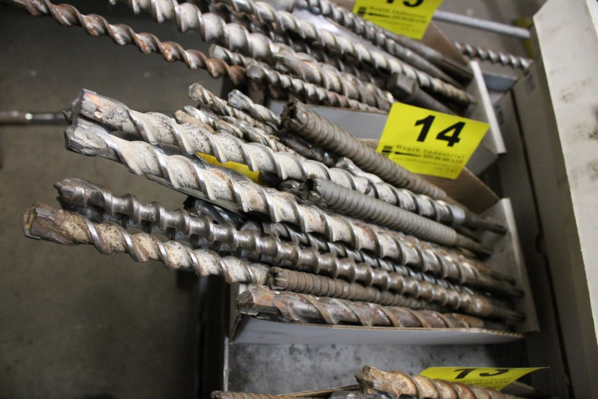 Lot 14 - ASSORTED ROTARY HAMMER BITS