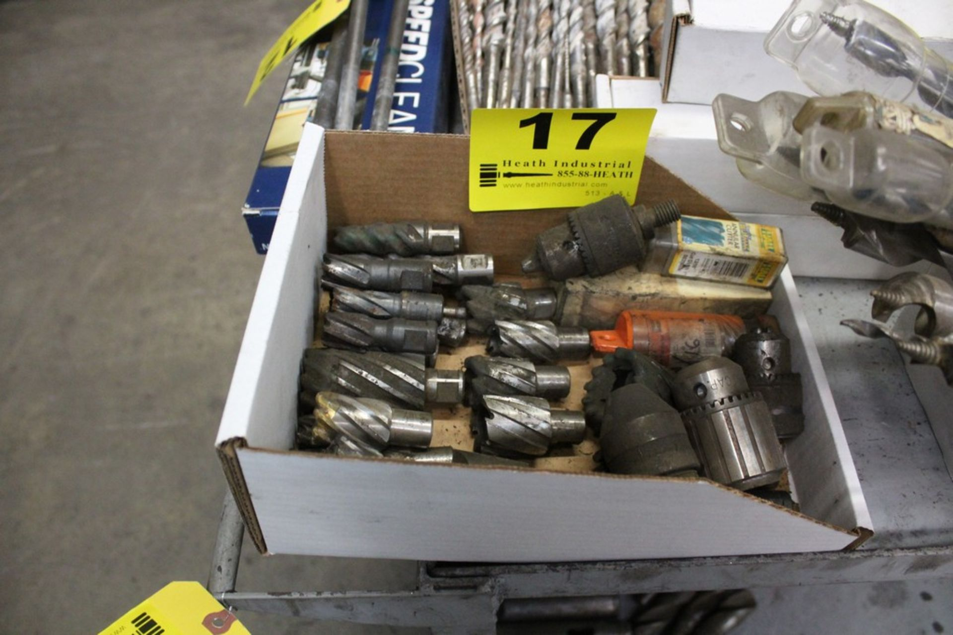 Lot 17 - ASSORTED TOOLING IN BOX