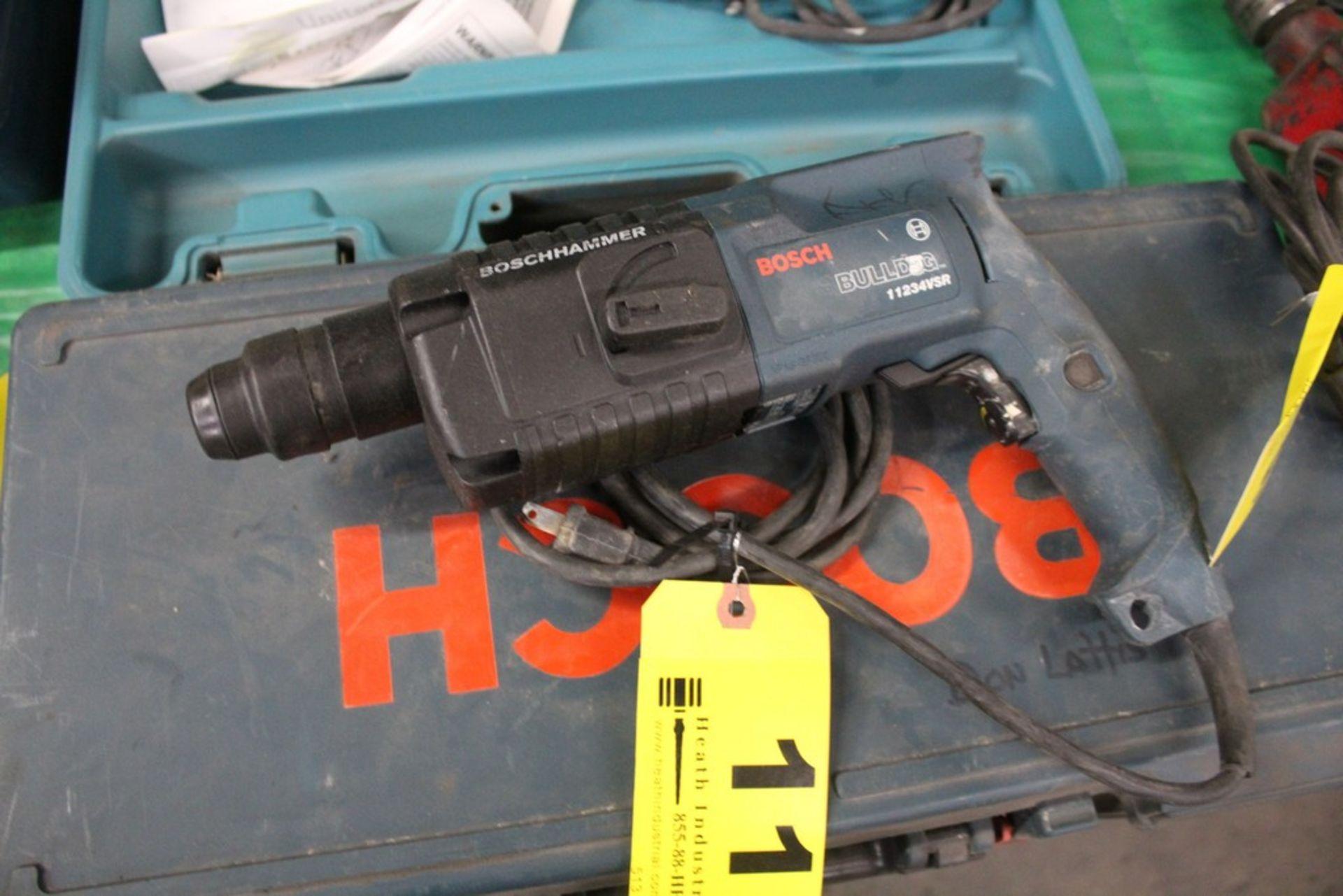 Lot 11 - BOSCH MODEL 11234VSR BULLDOG ROTARY HAMMER