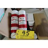 (11) Cans LRP 100 lubricant.