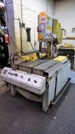 Lot 59 - DoAll Model TF-14 Metal Cutting Vertical Band Saw Serial Number: 337-76153, 220V with Transformer