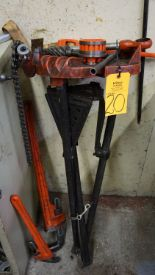 Lot 20 - Ridgid Tri-Stand, Pipe Wrench