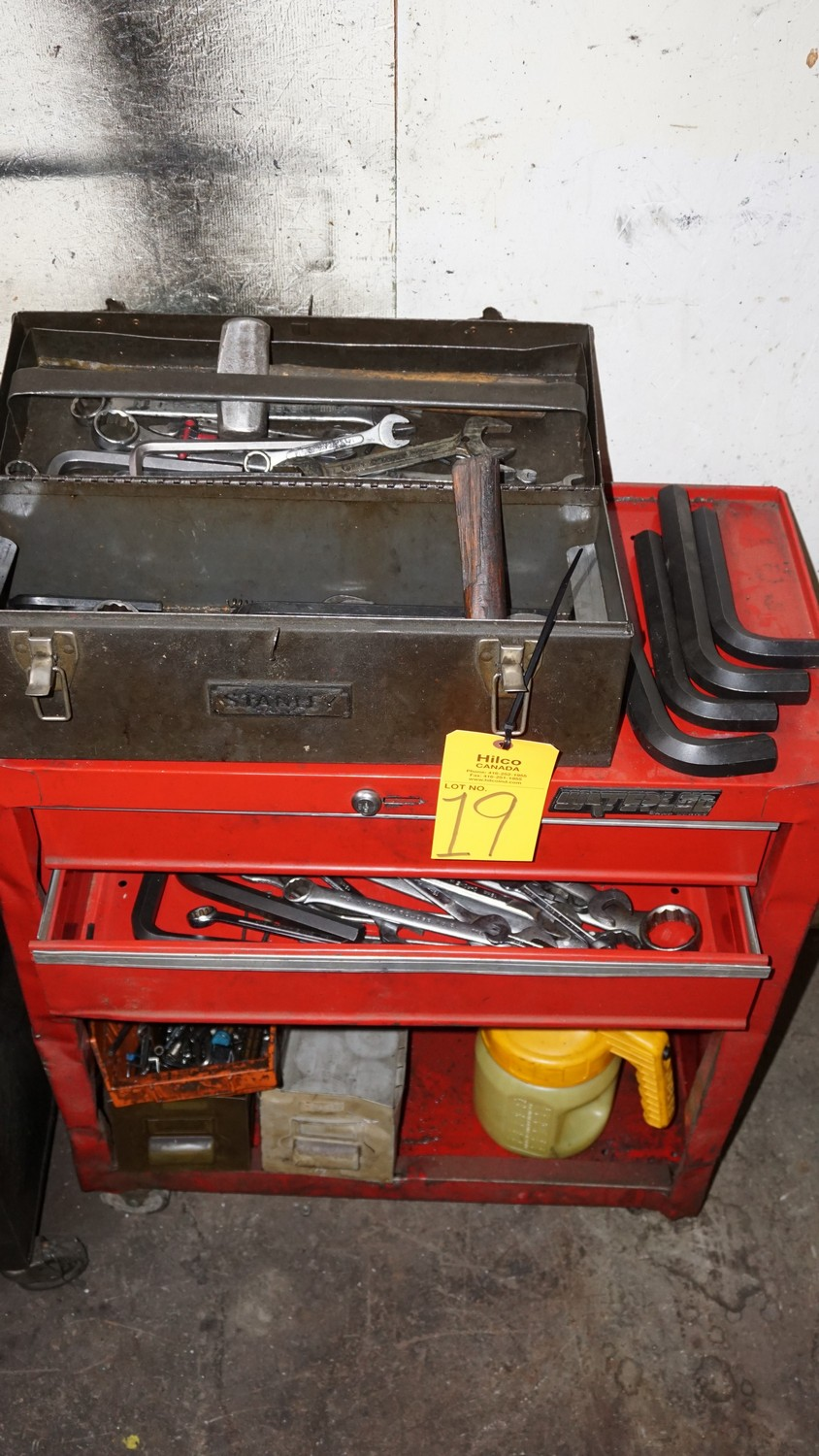 Lot 19 - Tool Box with Contents