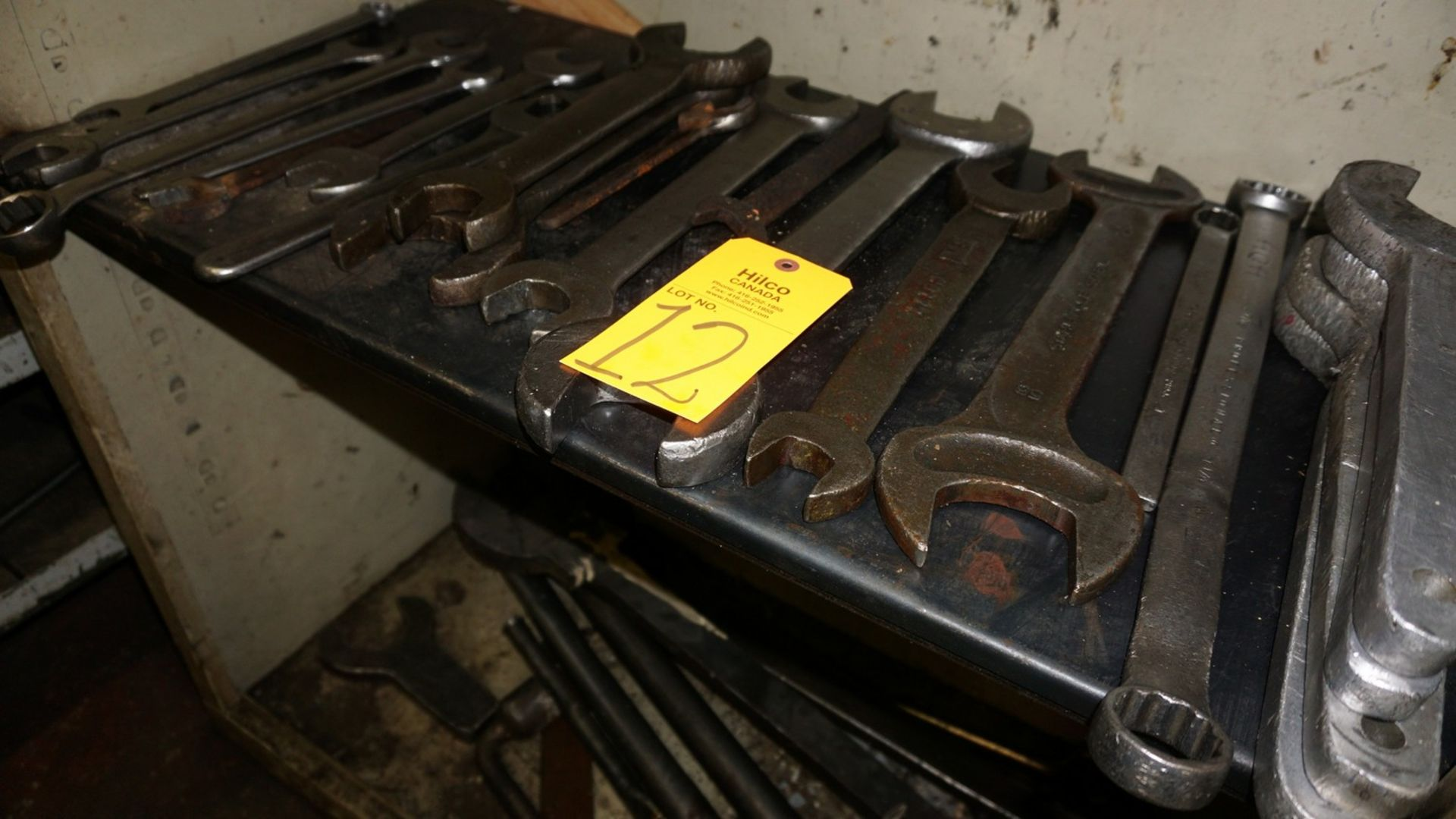Lot 12 - Lot of Asst. Wrenches