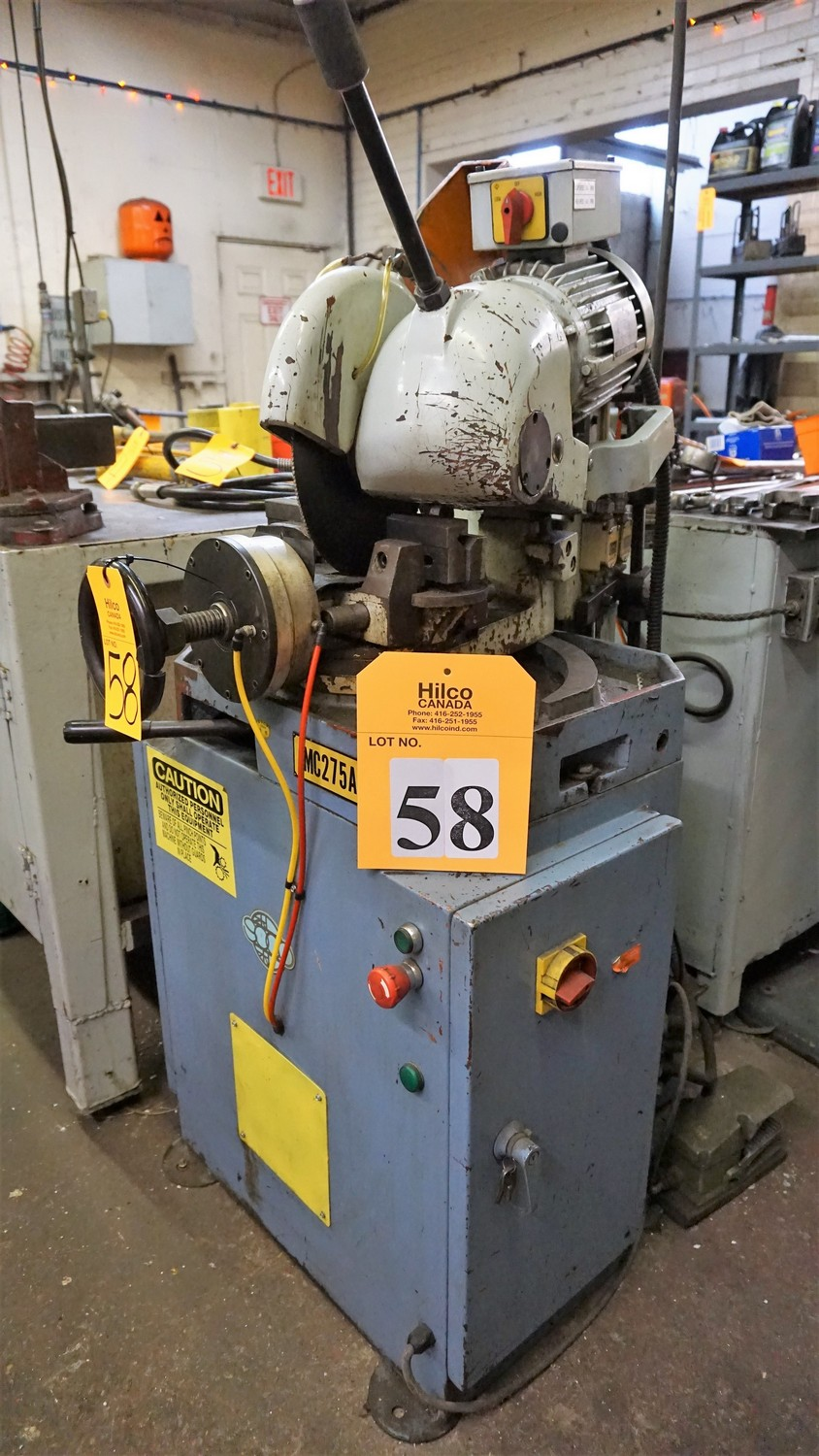 Lot 58 - Soco Model MC 275AC Cut-Off Saw
