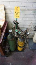 Lot 25 - Asst. O/A Torches & Regulators