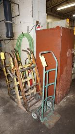 Lot 51 - Metal Cabinet with 2-Wheel Dollies