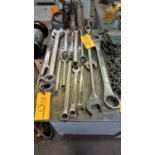 Lot 9 - Lot of Asst. Gray, Proto, MasterCraft Wrenches