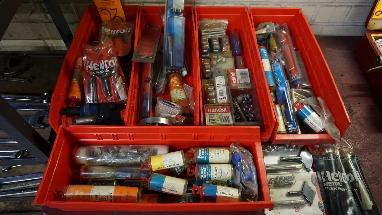 Lot 23 - Lot of Asst. Perma Coil, Heli Coil Thread Repair Kits
