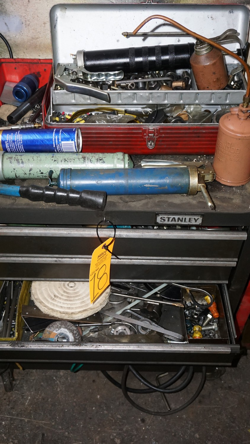 Lot 18 - Tool Box with Contents