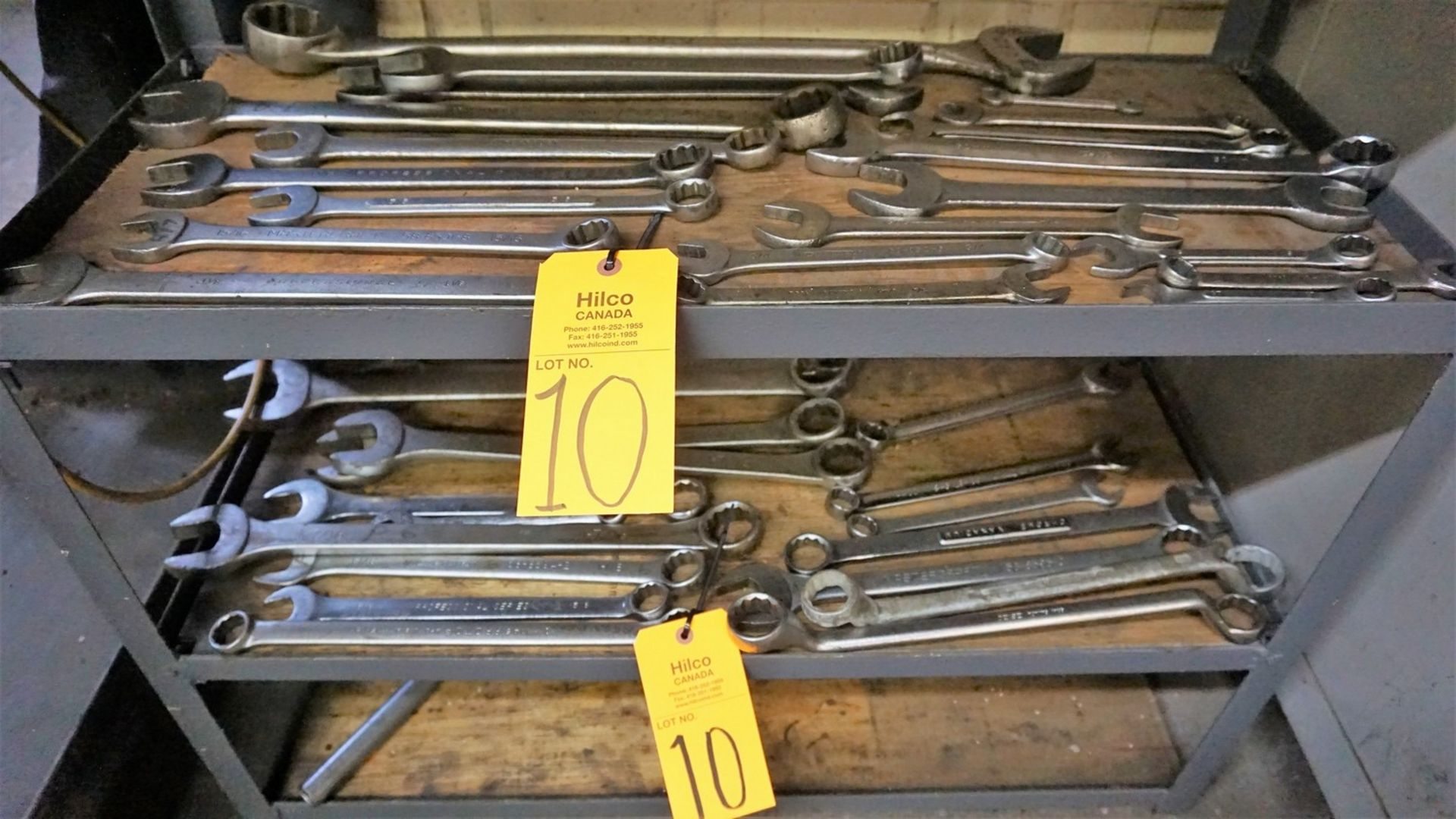 Lot 10 - Lot of Asst. Gray, MasterCraft, Proto Wrenches