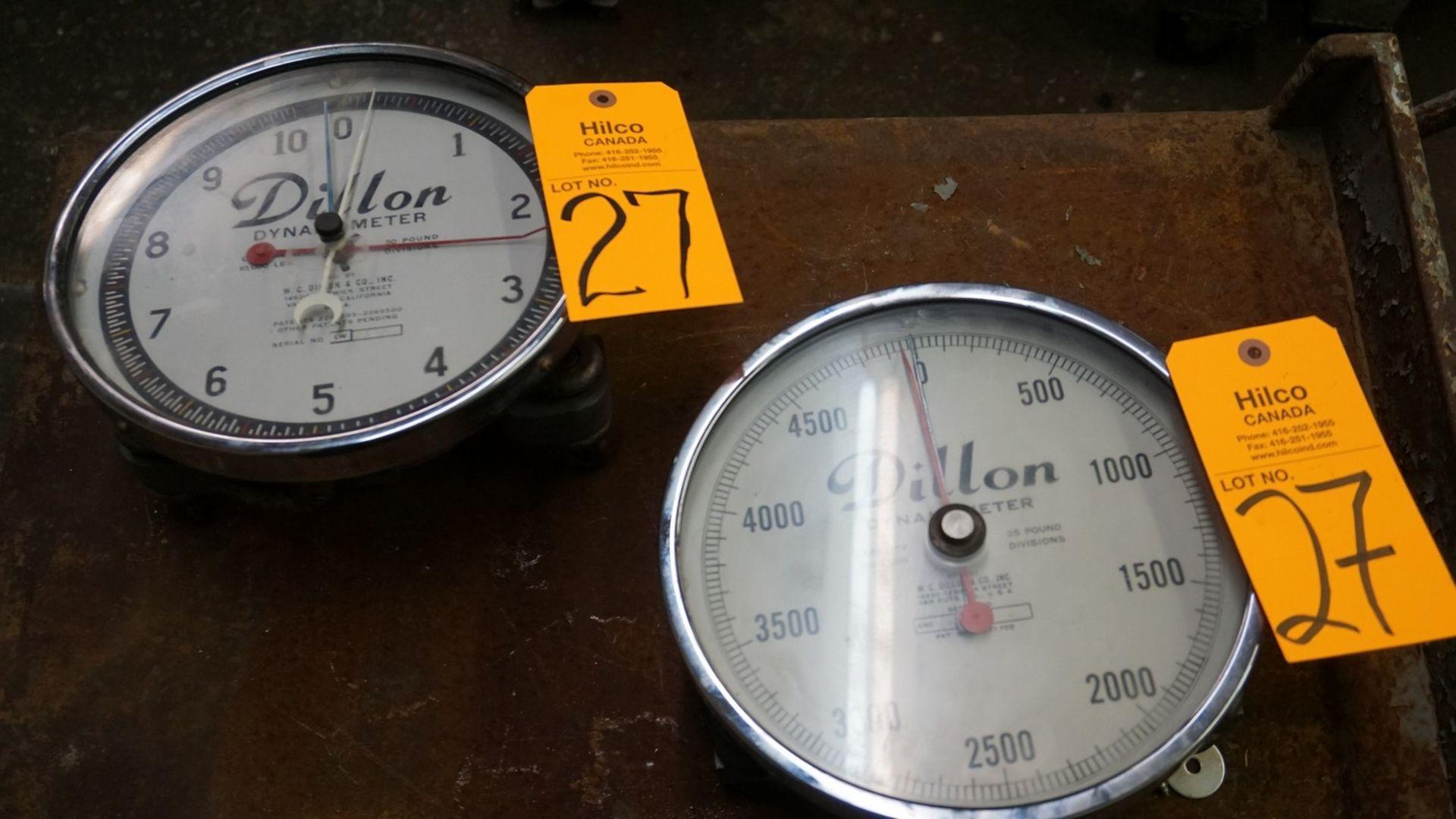 Lot 27 - Dillon Dynamo Meter 5,000/10,000-Lb Capacity Hanging Scales