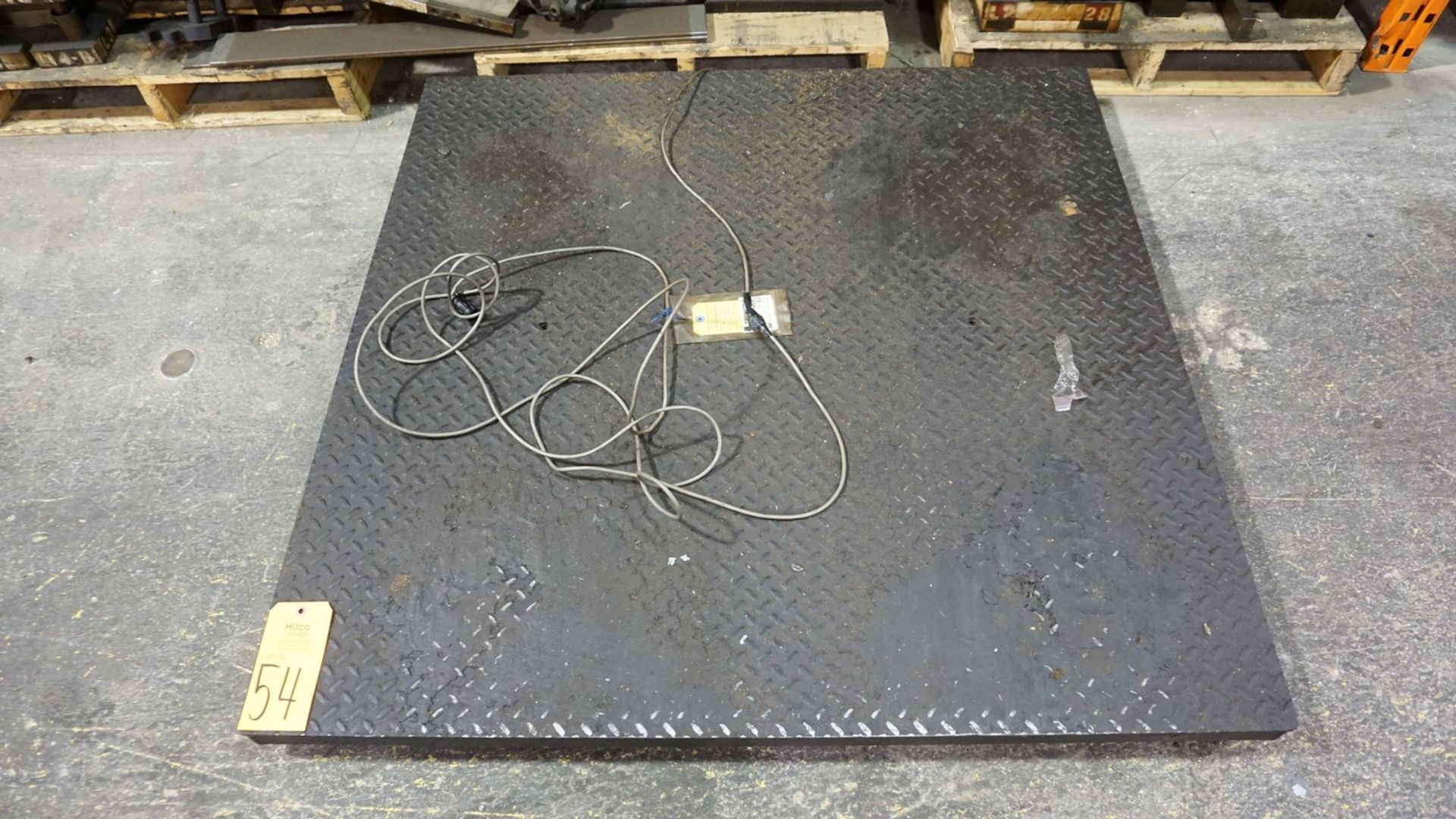 Lot 54 - Platform Scale (No DRO)