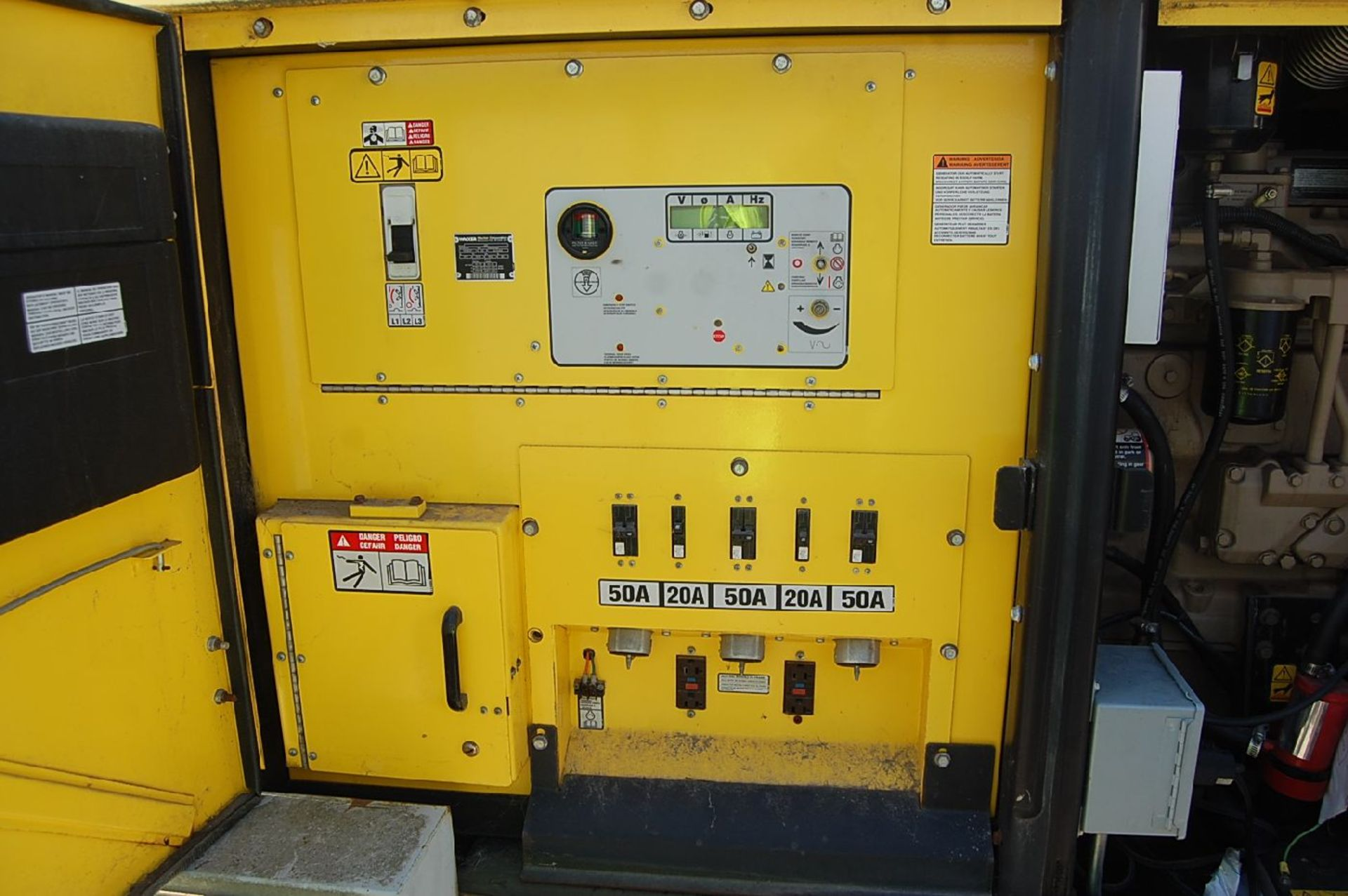Lot 37 - Wacker Model G85 83 kVa Diesel Generator