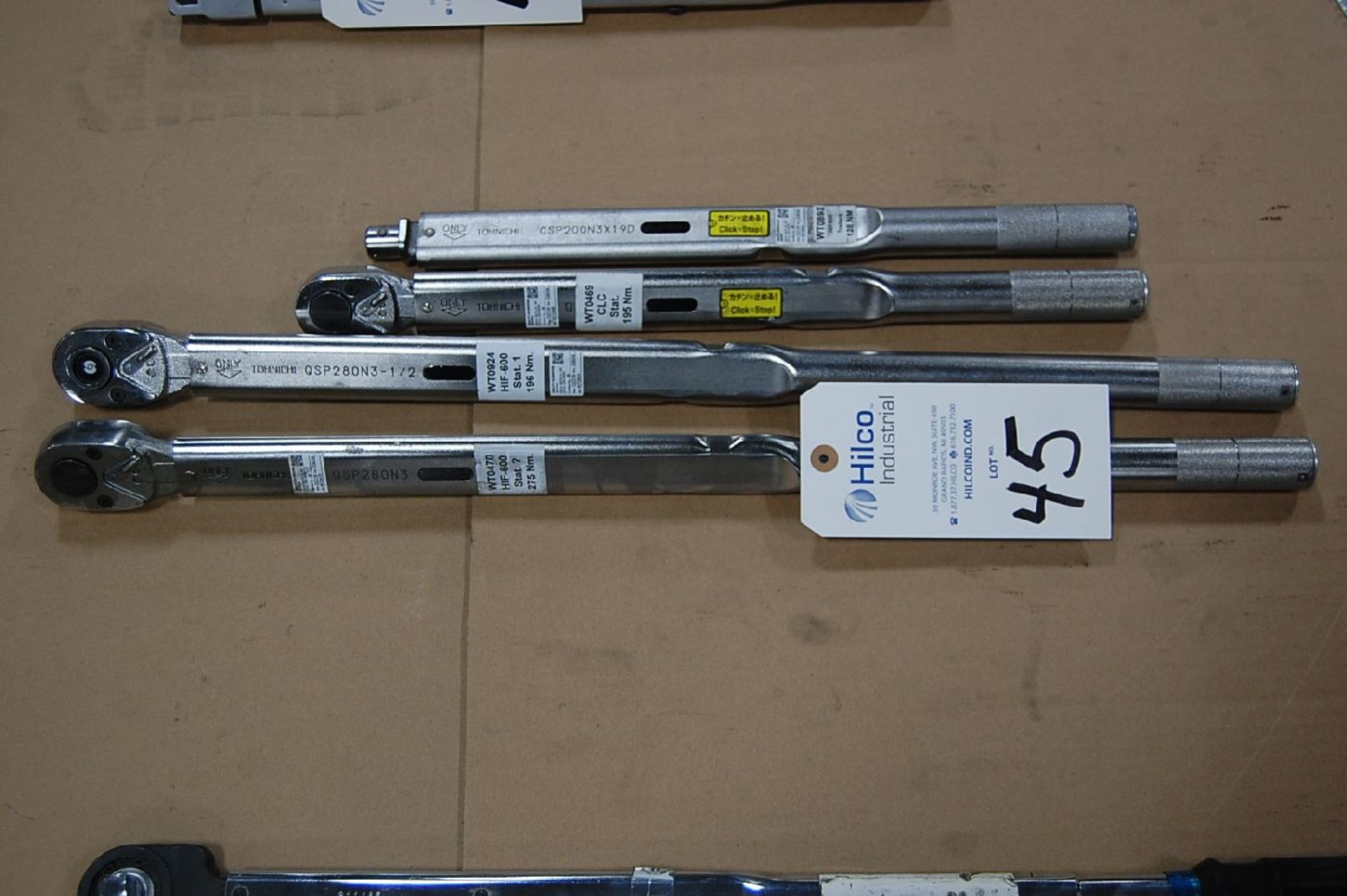 Lot 45 - Tohnichi Model QSP280N3 Torque Wrench