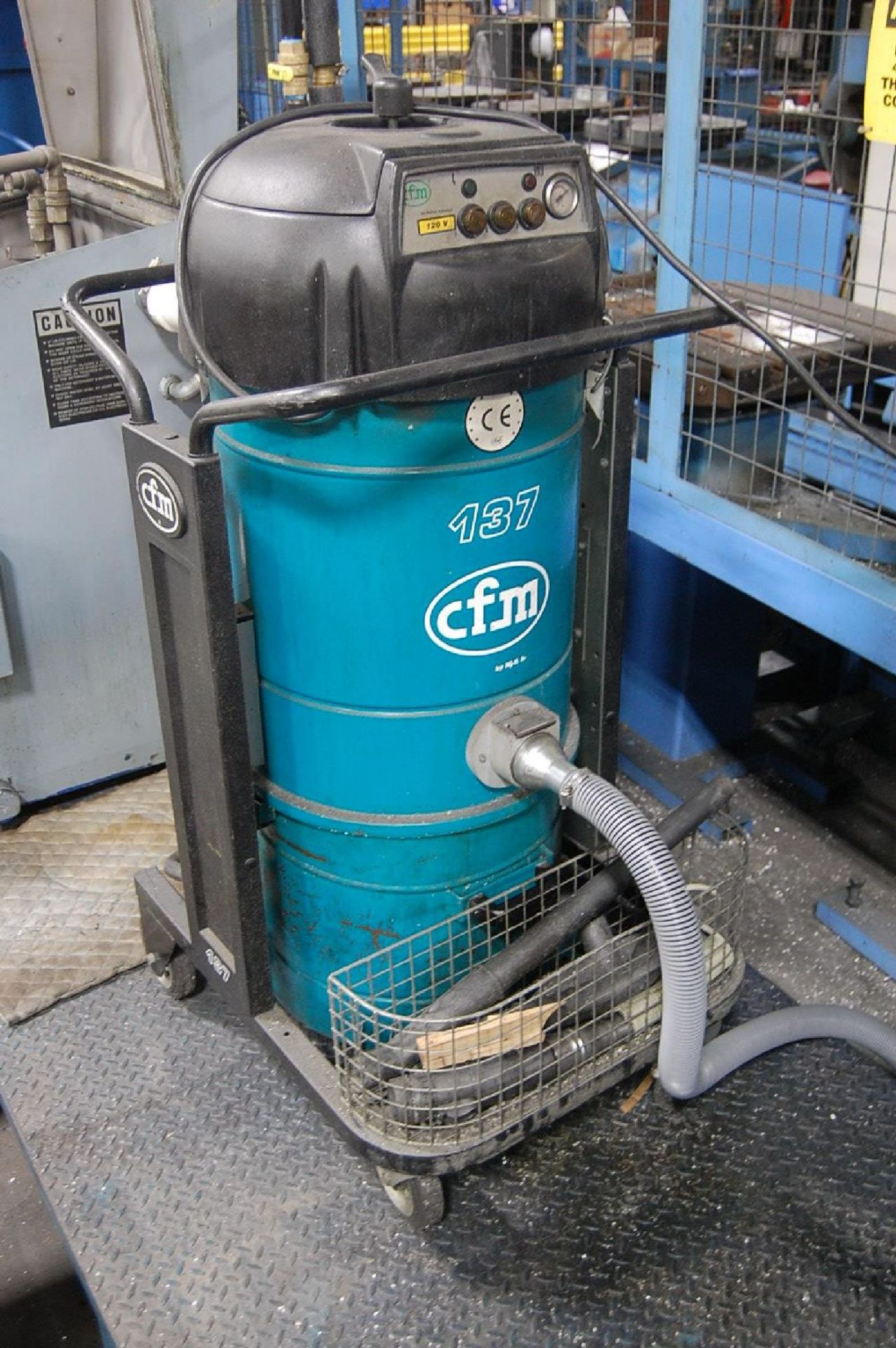 Lot 9 - Nilfisk Model cfm 137 Vacuum System