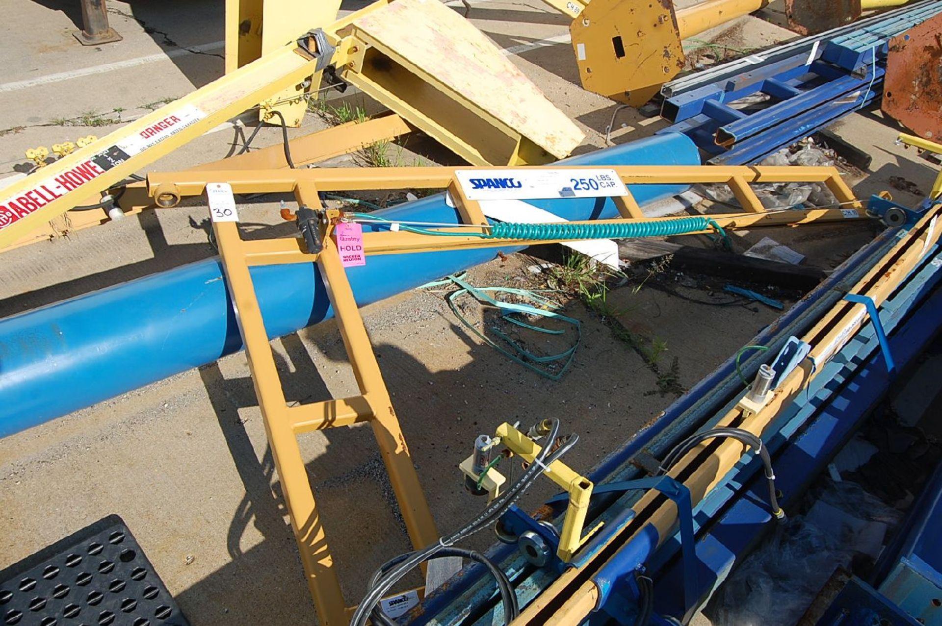 Lot 30 - Spanco 250 Lb. Floor Standing Jib Crane