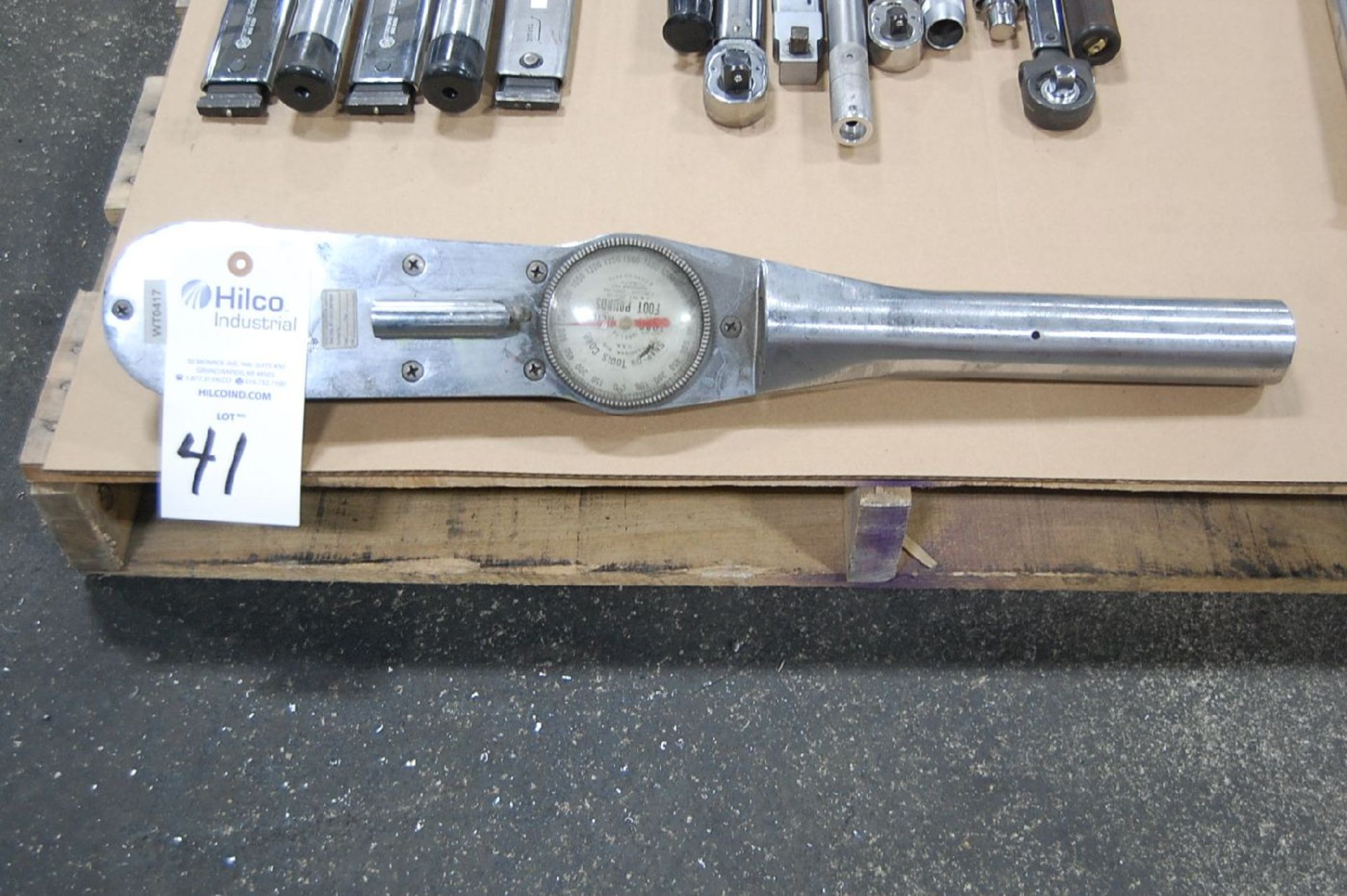 Lot 41 - Snap-On Model 1503-L-14 1,500 Ft. Lb. Dial Type Torque Wrench