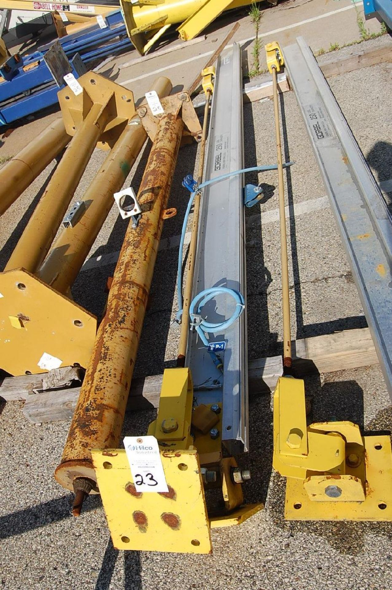 Lot 23 - Gorbel 250 Lb. Column Mounted Jib Crane