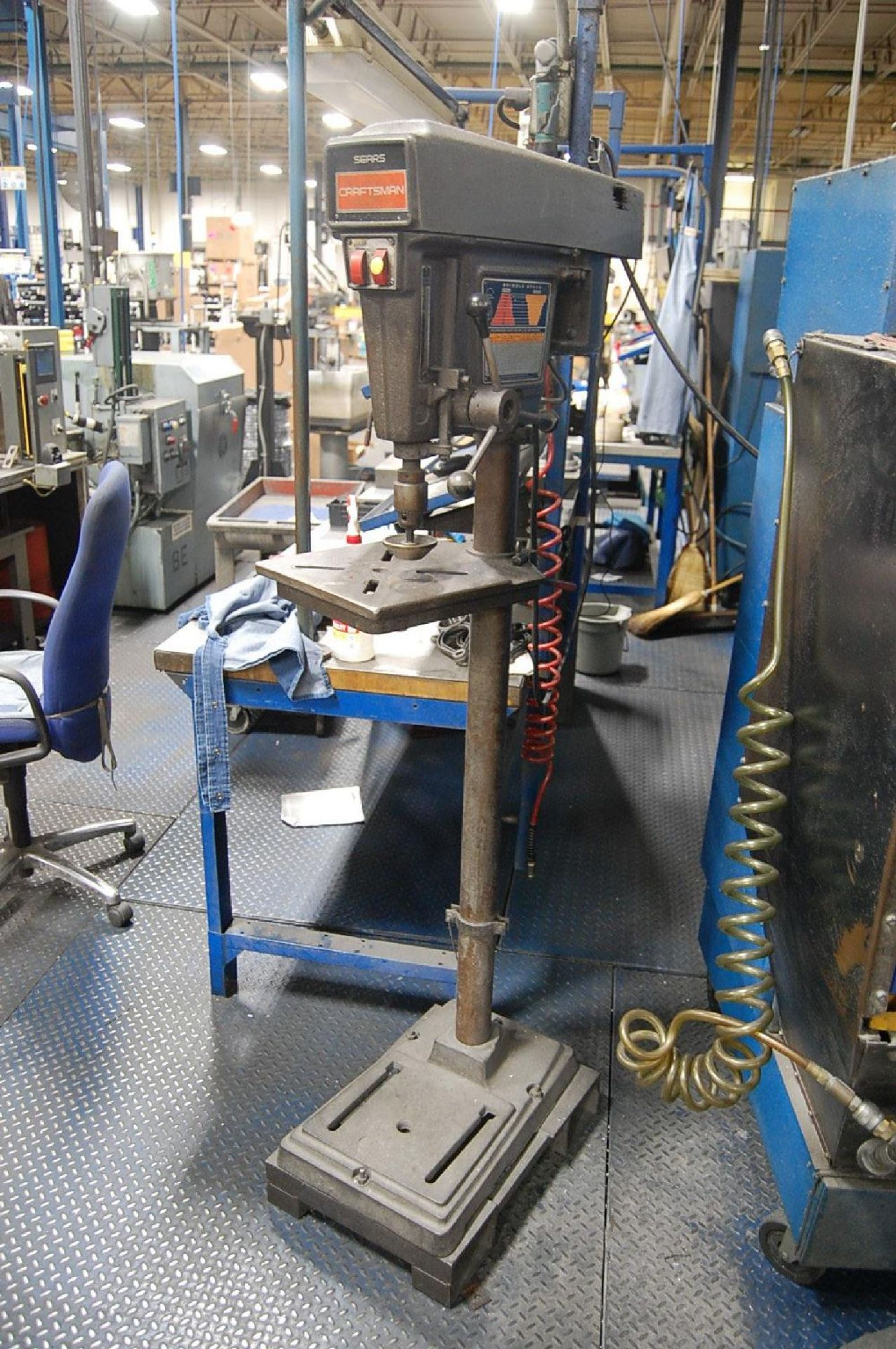 Lot 5 - Sears Craftsman Pedestal Type Drill Press