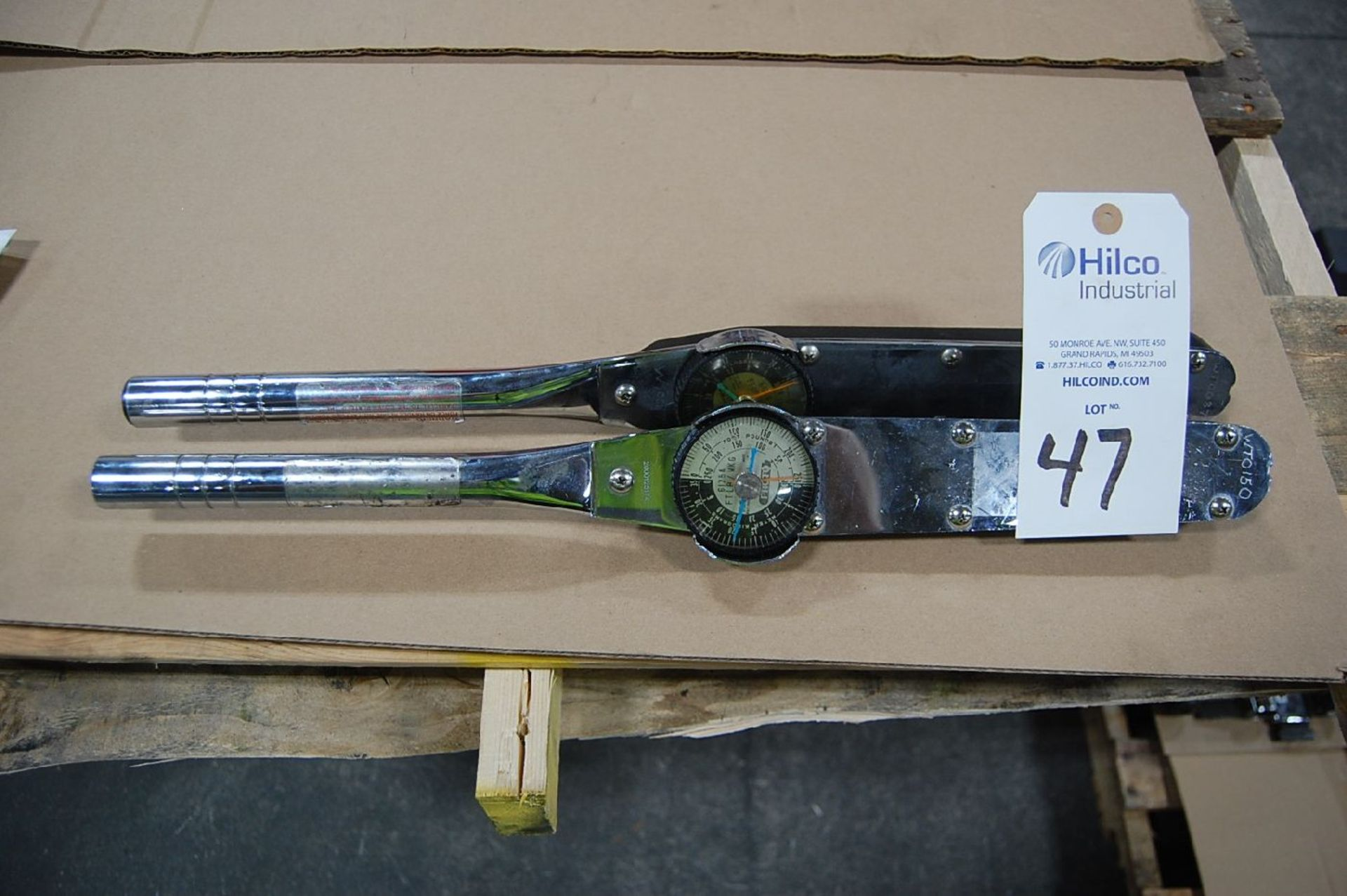 Lot 47 - Proto Model 6125A Dial Type Torque Wrench