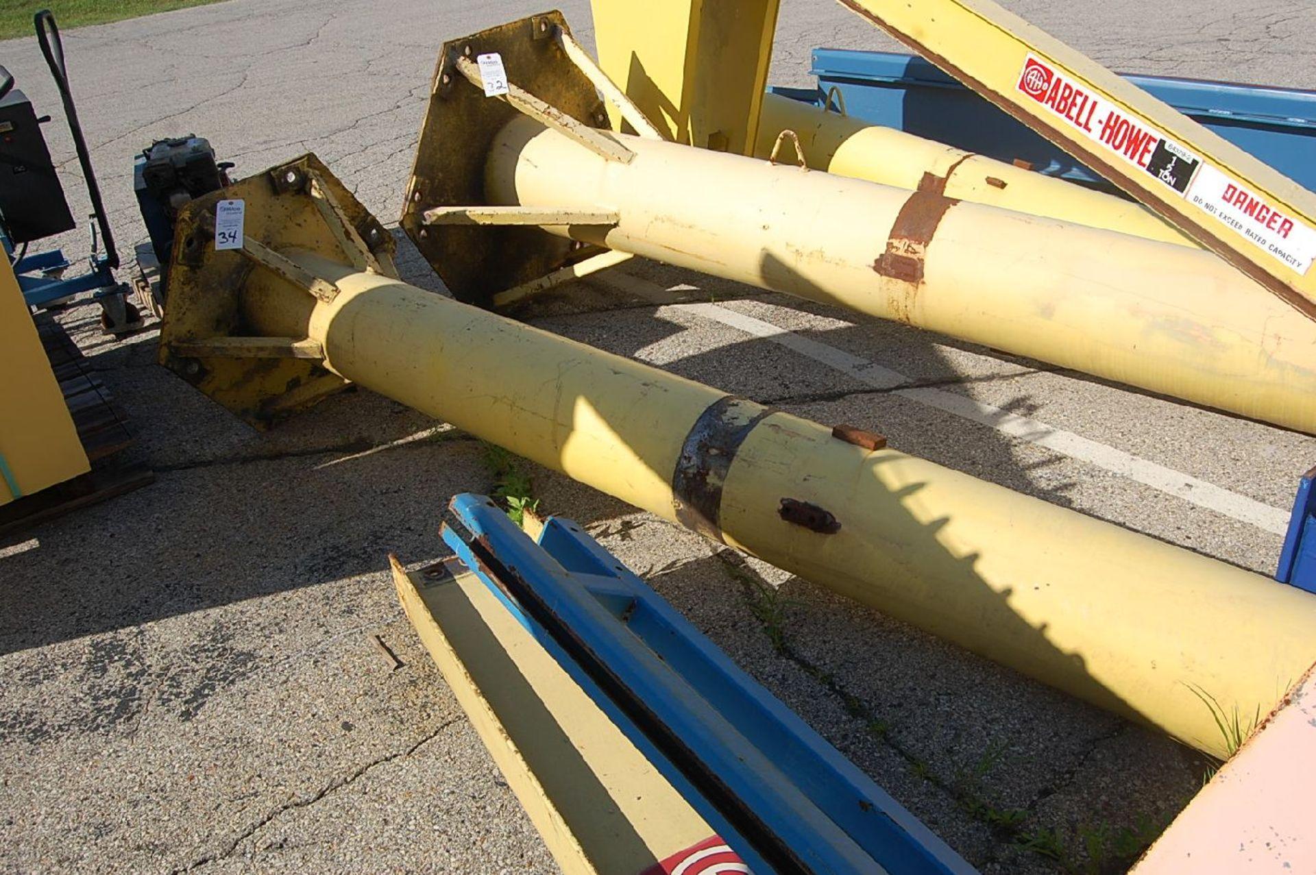 Gorbel 1/2-Ton Floor Standing Jib Crane - Image 2 of 2