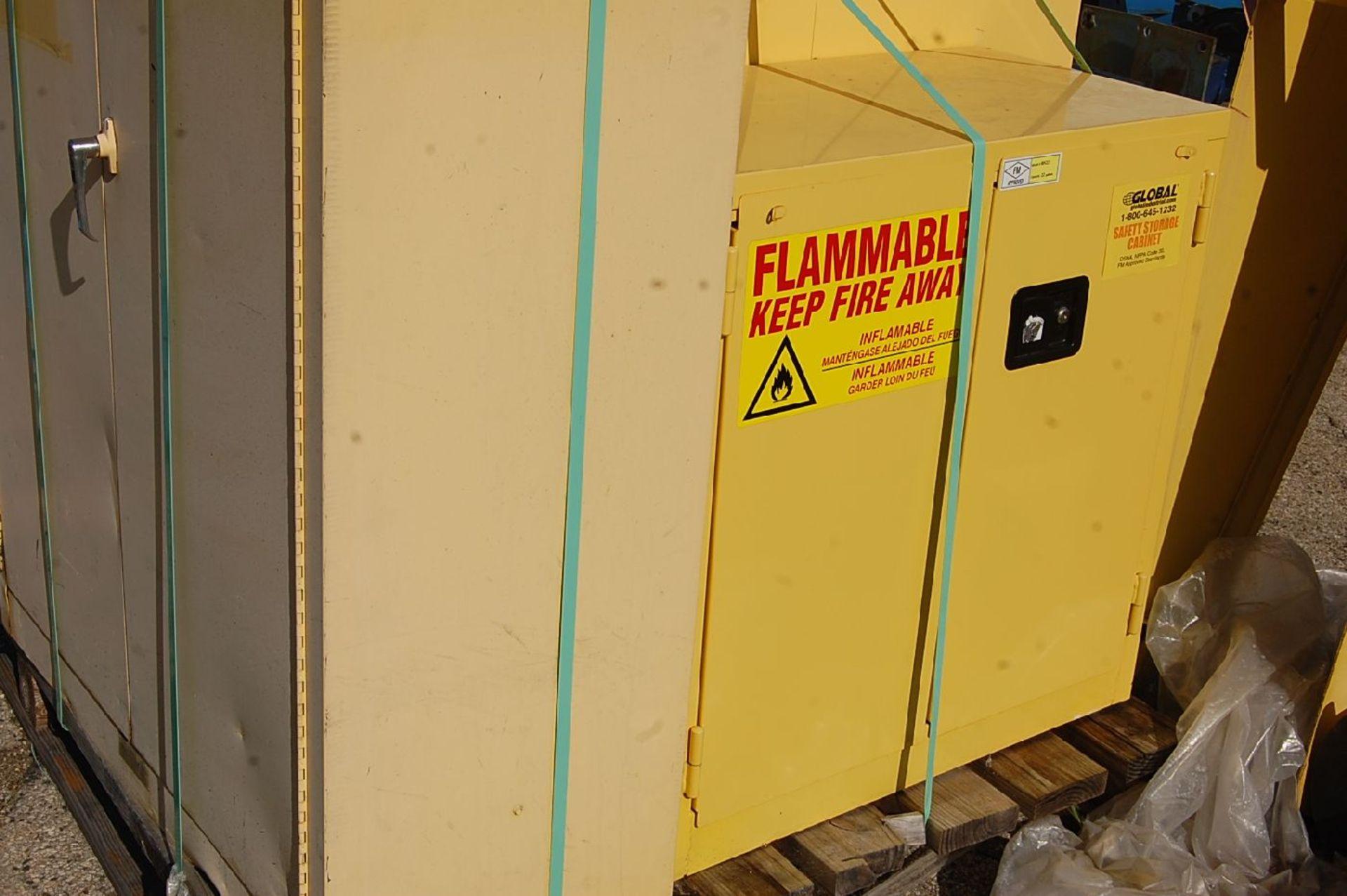 Lot 38 - Justrite 45-Gallon Flammable Liquids Storage Cabinet