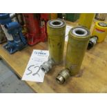 Enerpac Model C-104 10 Ton Hydraulic Cylinder Rams