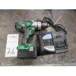 Hitachi Model DV18DSDL 13mm Cordless Hammer Drill