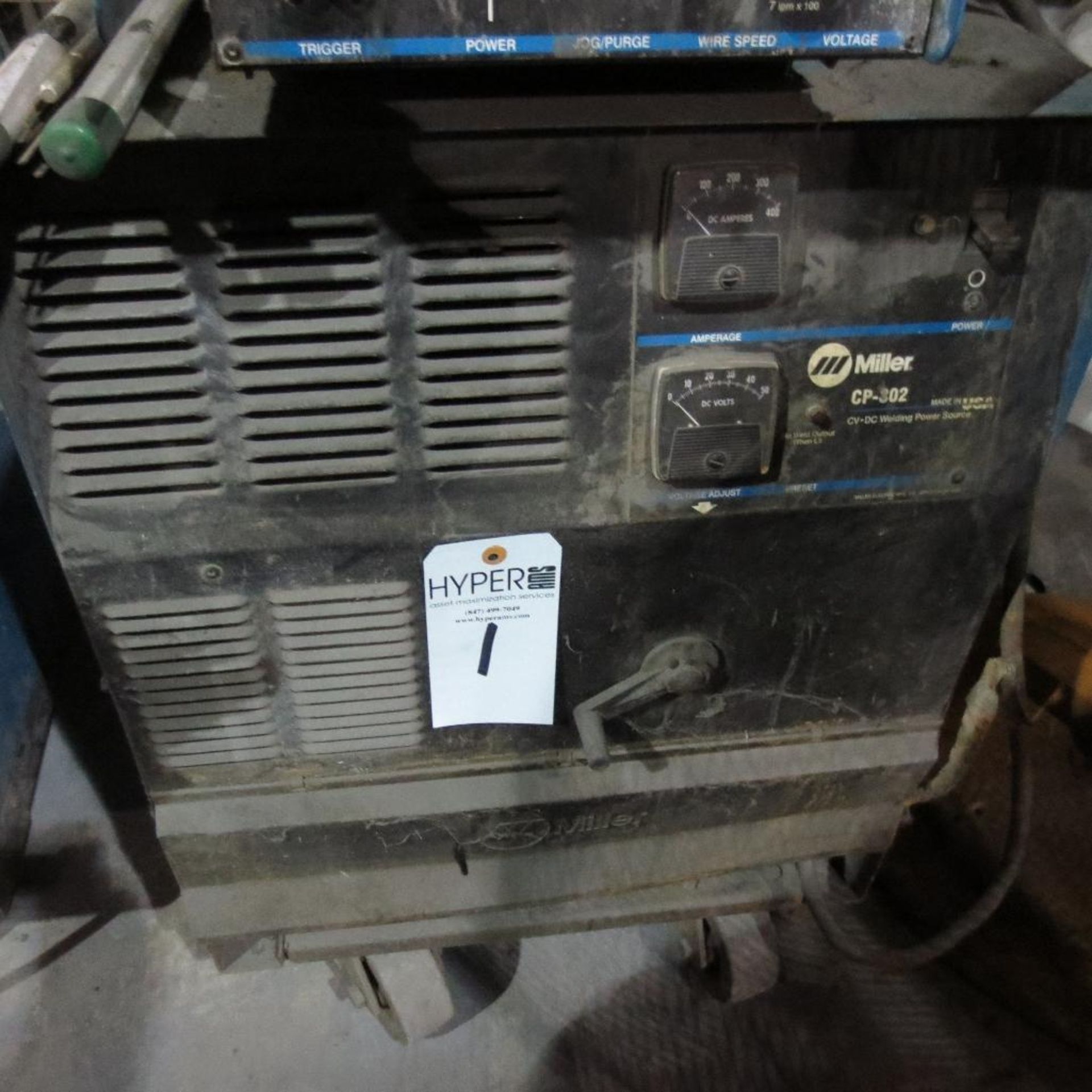 Lot 1 - Miller Model CP-302 Welder with A-22 Wire Feed