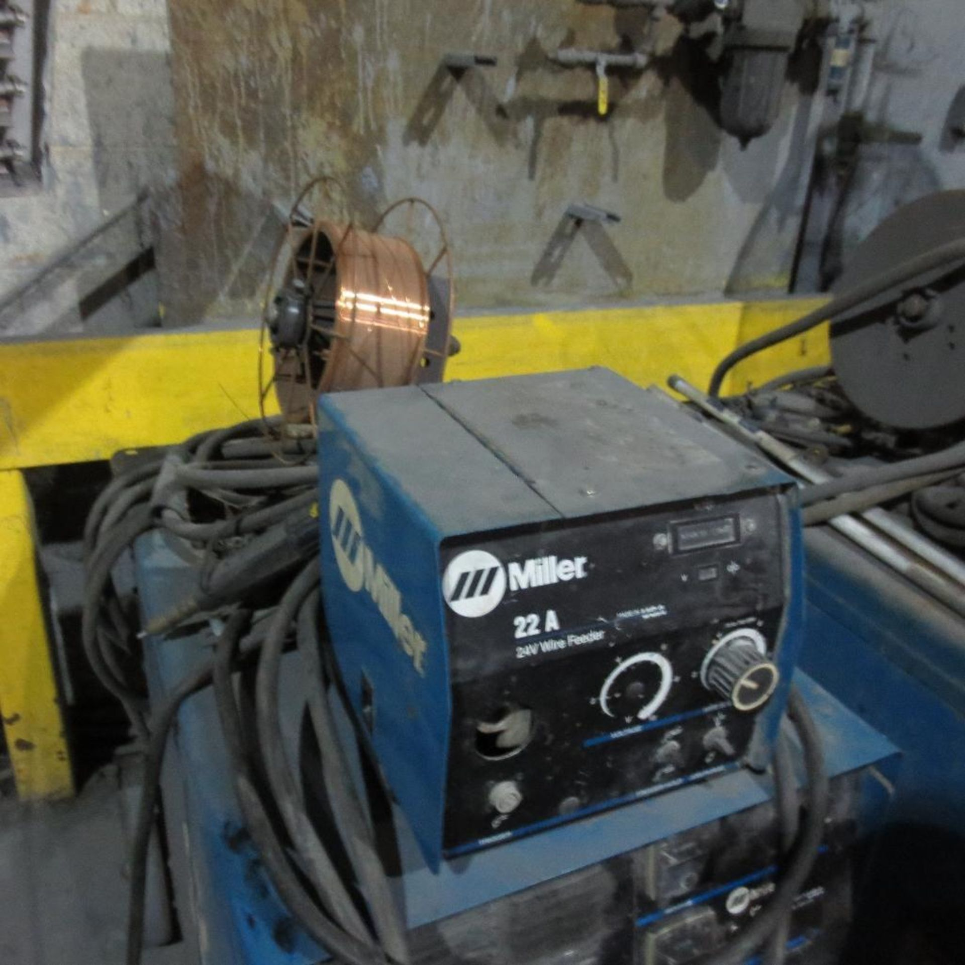 Lot 2 - Miller Model CP-302 Welder with A-22 Wire Feed