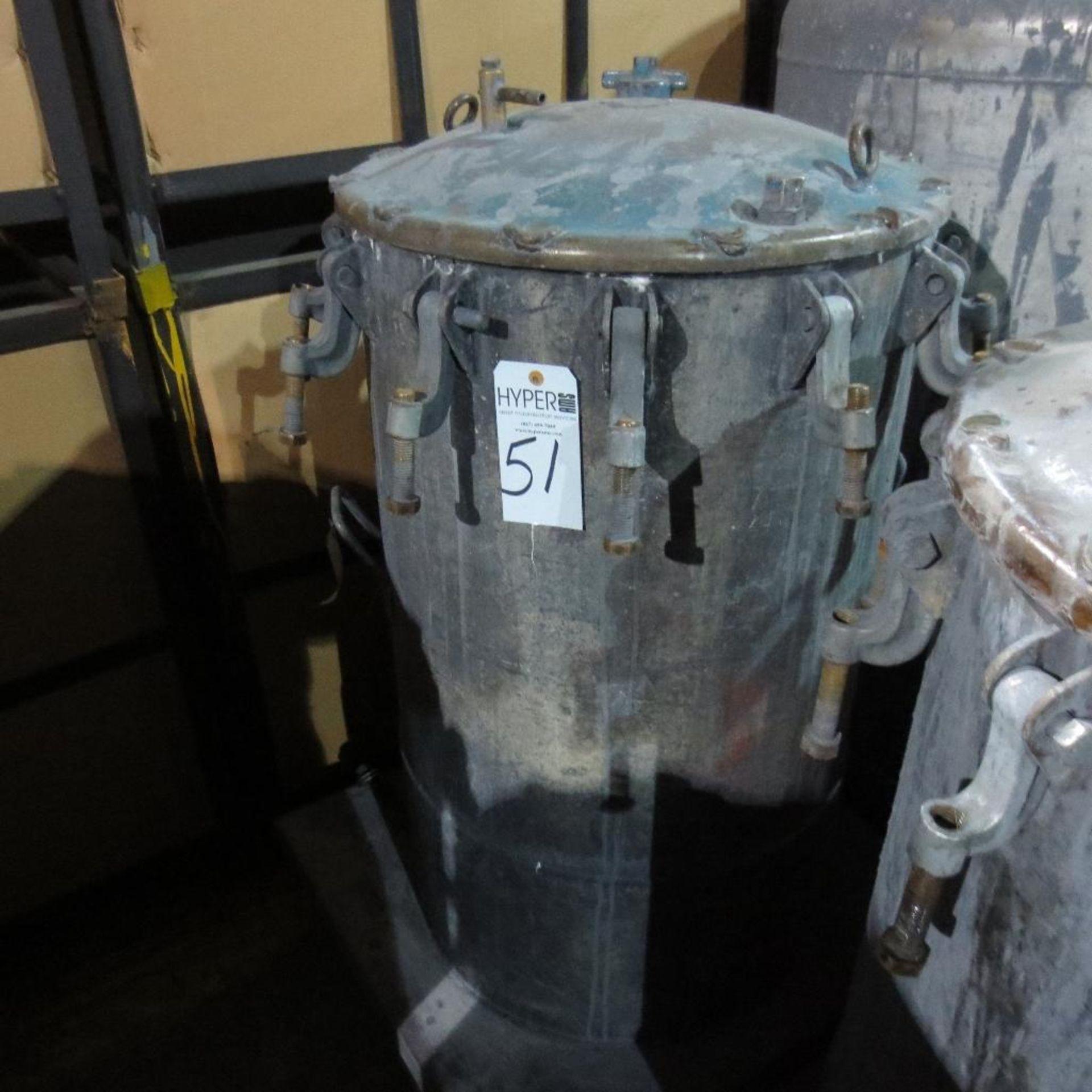 """Lot 51 - (Est) 40"""" X 24"""" Pressure Pot"""