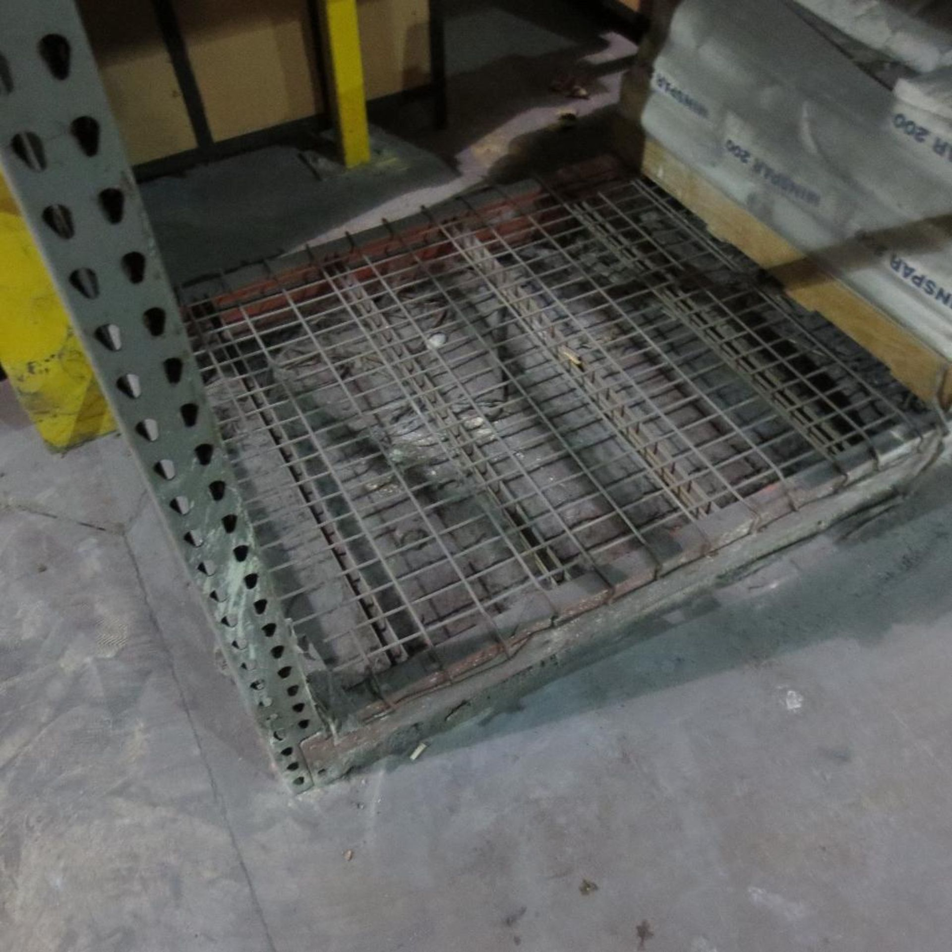 """Lot 29 - (2) Section of Pallet Racking containing (3) 18' X 42"""" Legs and (12) 8' Cross Beams"""