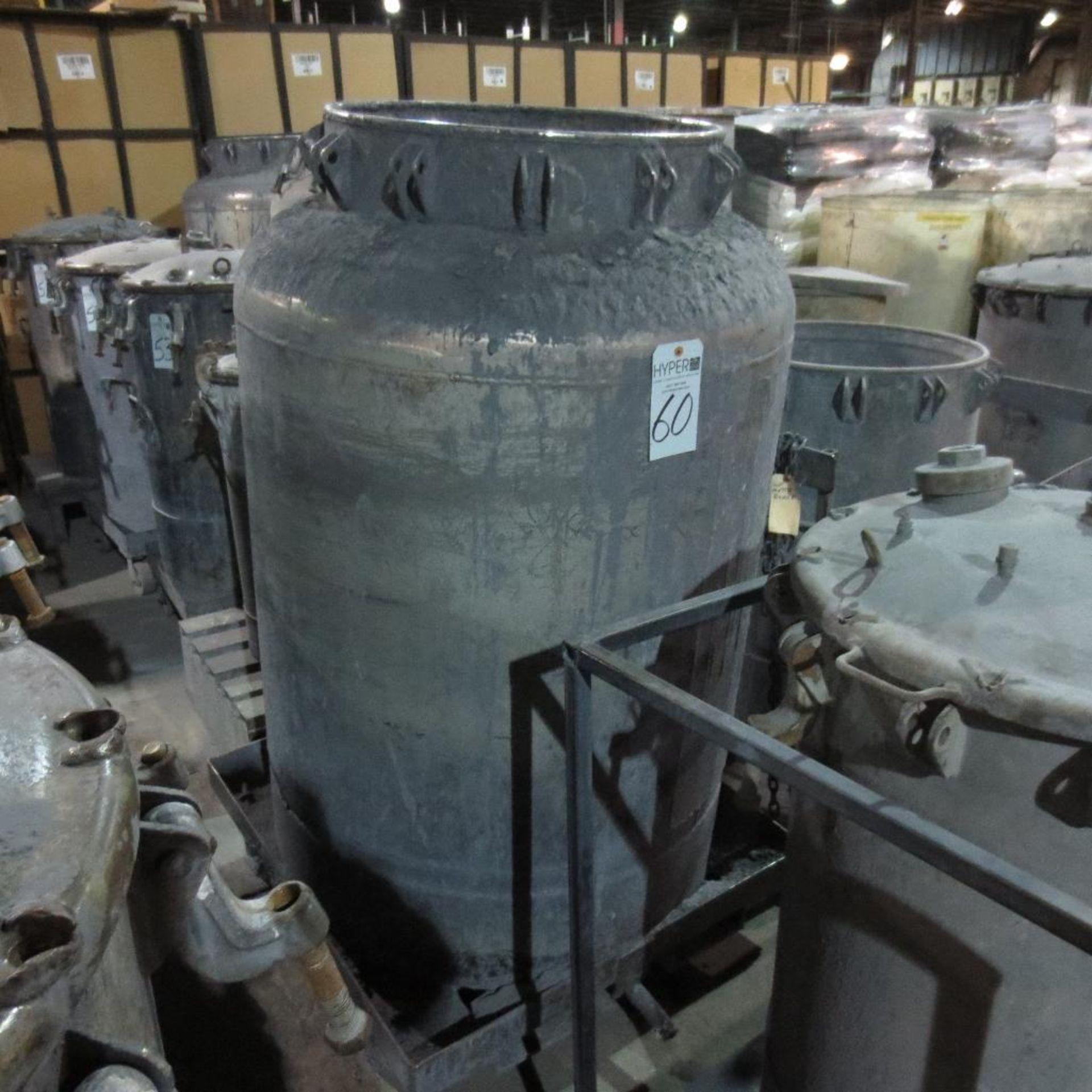 """Lot 60 - (Est) 56"""" X 23"""" Pressure Pot ( No Lid )"""