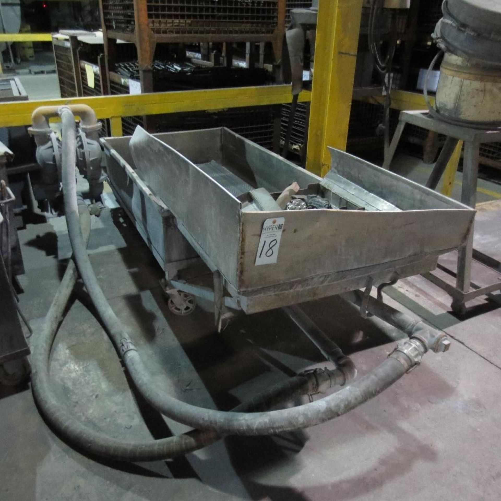 Lot 18 - Pump with Stainless wash pan