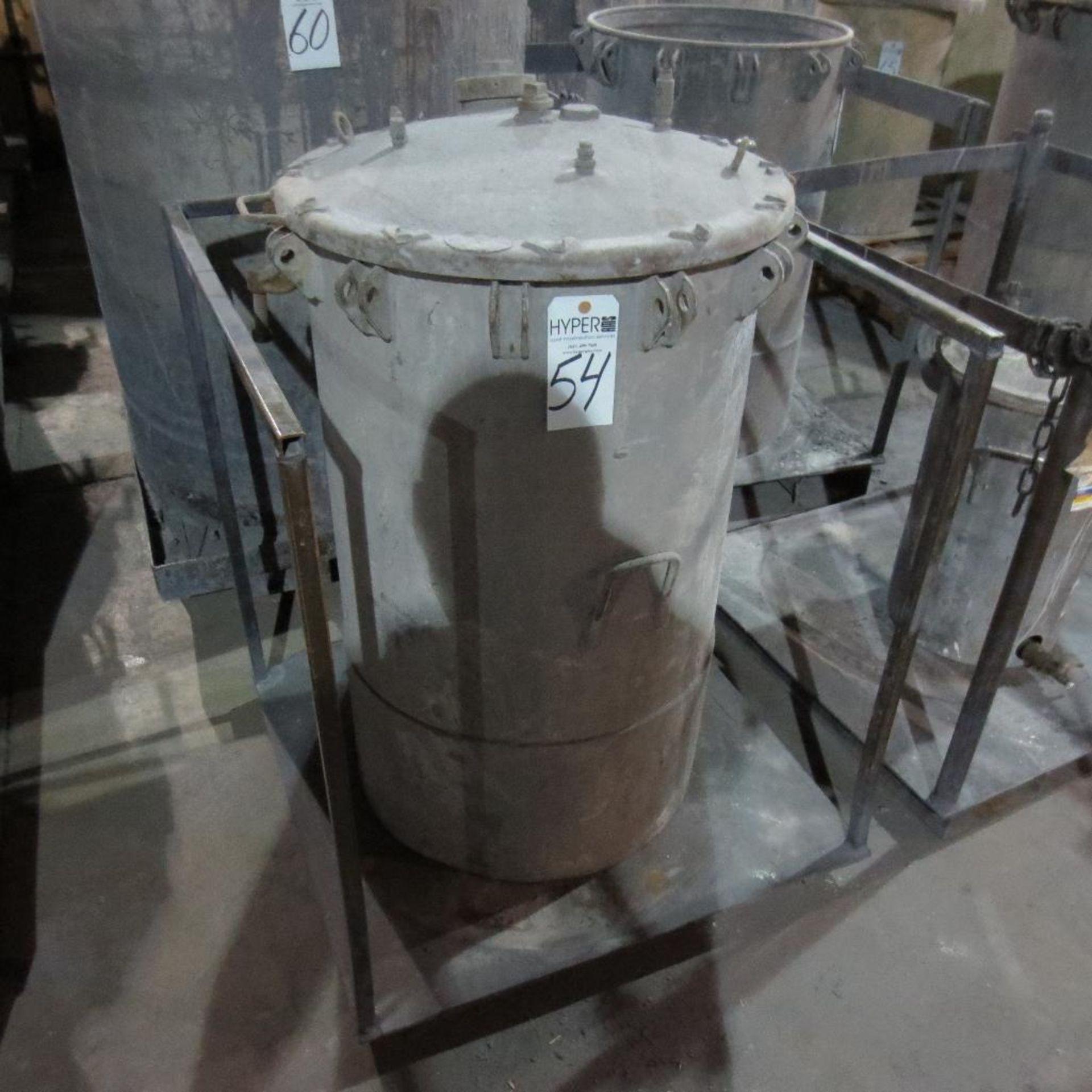 """Lot 54 - (Est) 40"""" X 24"""" Pressure Pot"""