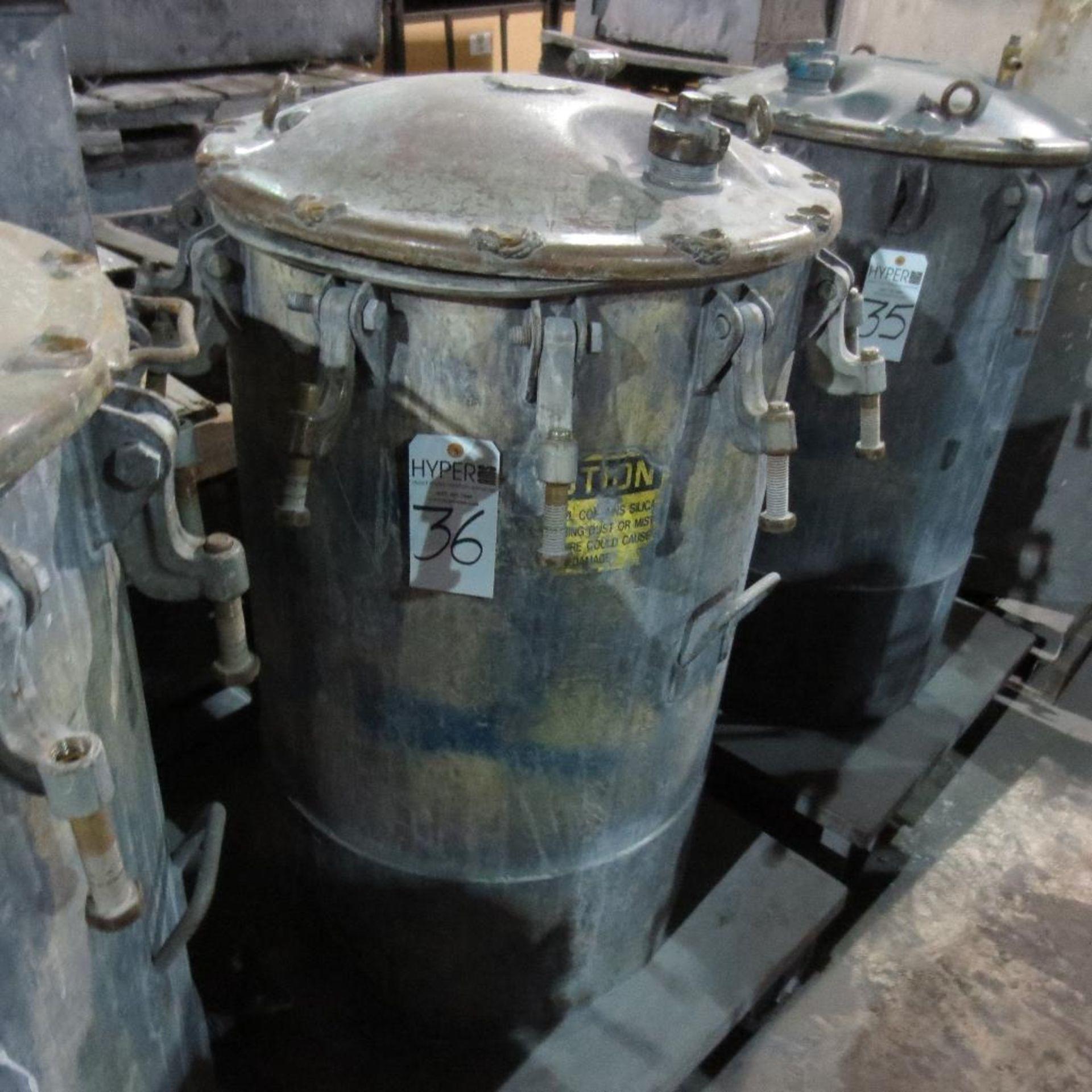 """Lot 36 - (Est) 40"""" X 24"""" Pressure Pot"""