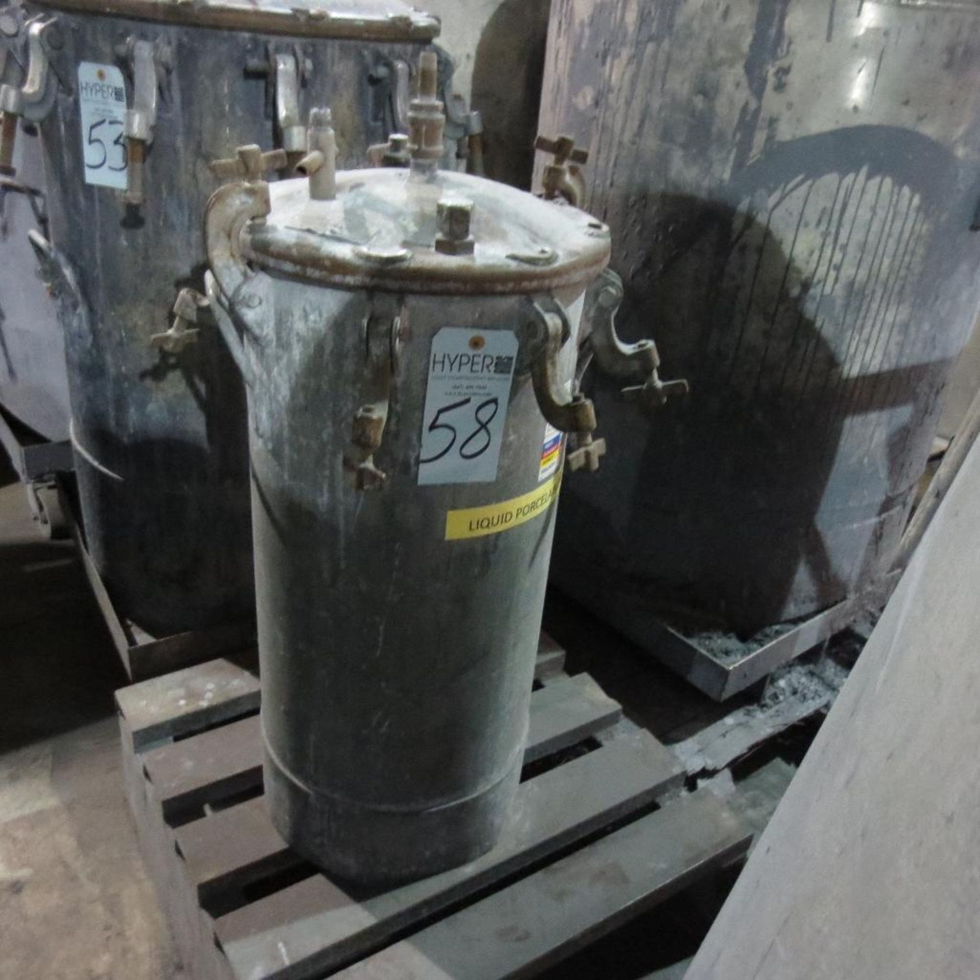 "Lot 58 - (Est) 31"" X 14"" Pressure Pot"