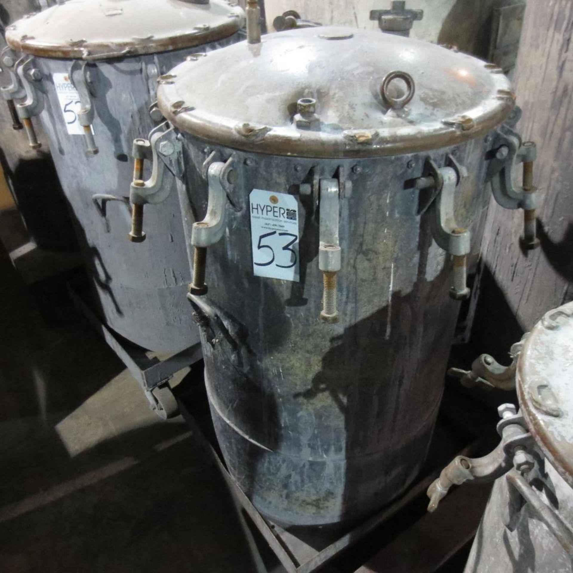 """Lot 53 - (Est) 40"""" X 24"""" Pressure Pot"""