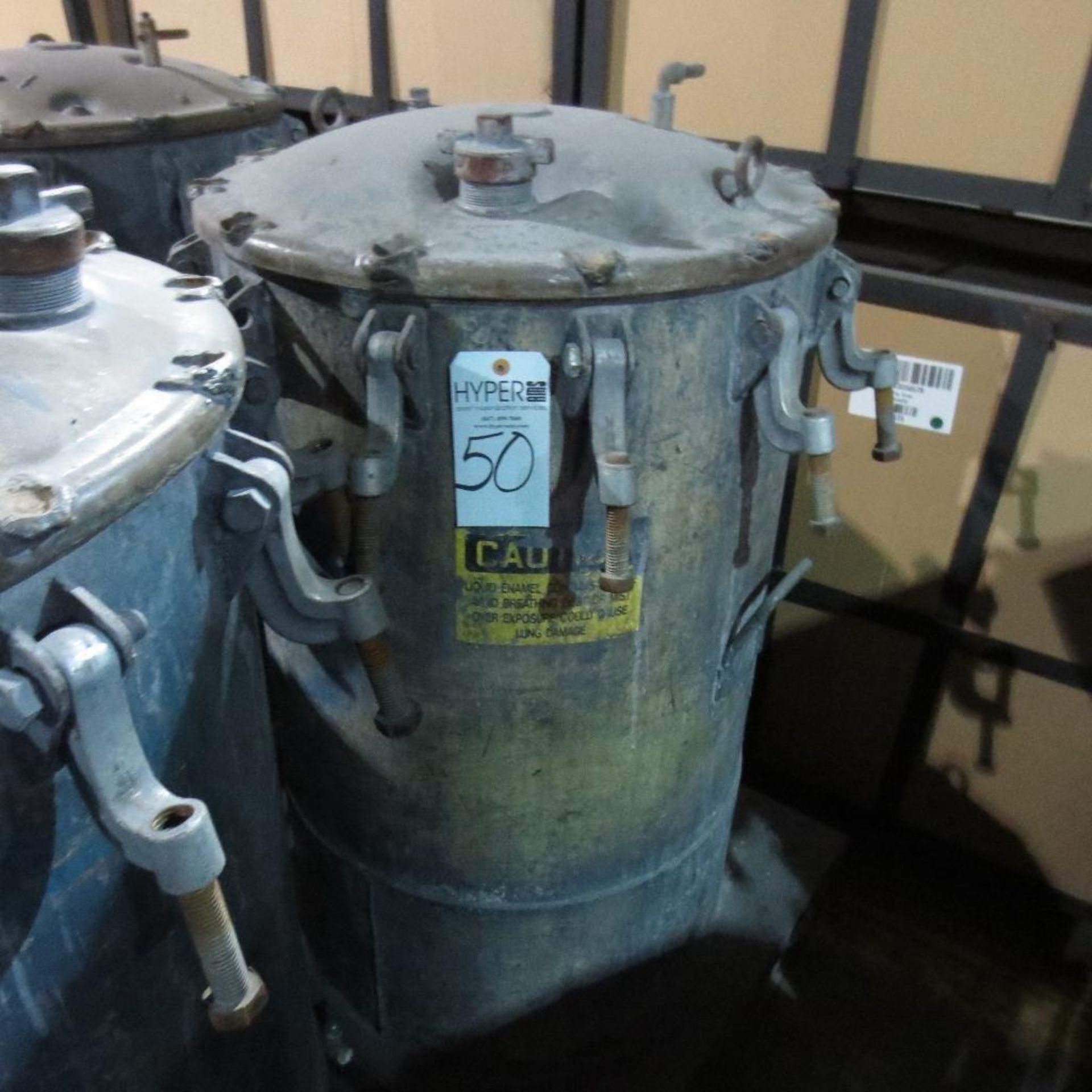 """Lot 50 - (Est) 40"""" X 24"""" Pressure Pot"""