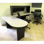 Office Desk W/2 Chairs