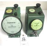 (2) Federal No. D-16000 & D-5000-RI Air Gage Bore Gages