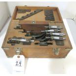 "Mitutoyo 0-6"" Micrometer Set"