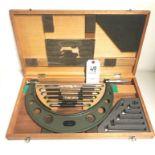 "6"" - 12"" Mitutoyo No. 104-138 Interchangable Micrometer - .001"""