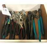 (18) Assorted Pliers